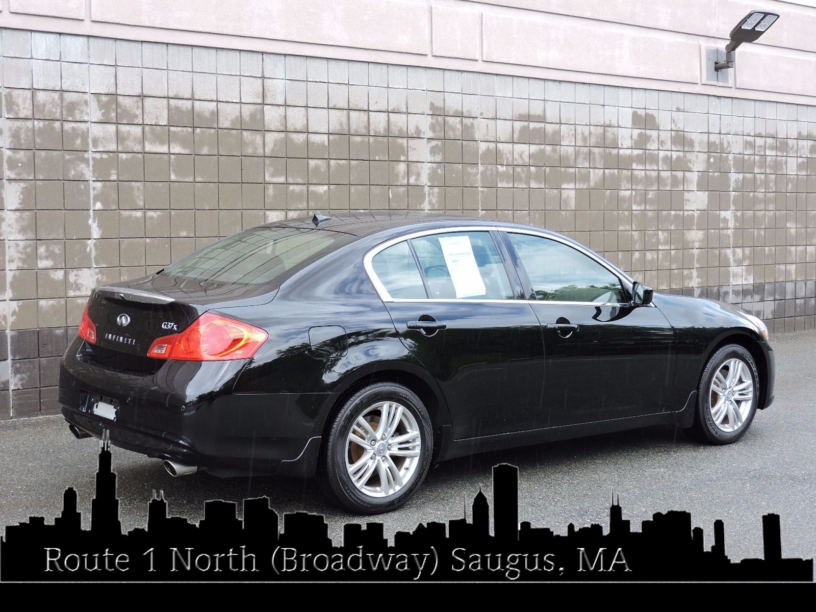 used 2013 infiniti g37 sedan x at saugus auto mall. Black Bedroom Furniture Sets. Home Design Ideas