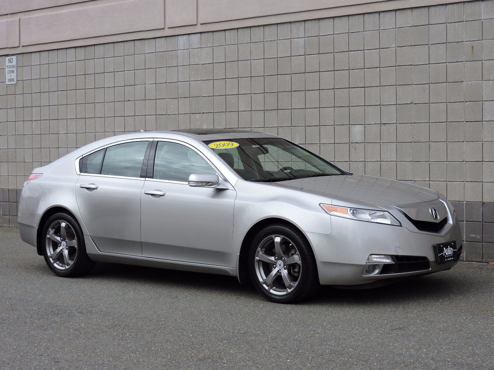 used 2009 acura tl at saugus auto mall