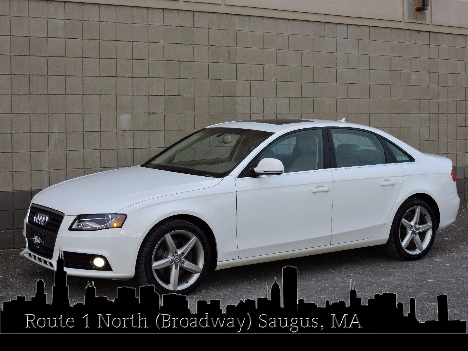 used 2009 audi a4 2 0t prestige at saugus auto mall. Black Bedroom Furniture Sets. Home Design Ideas