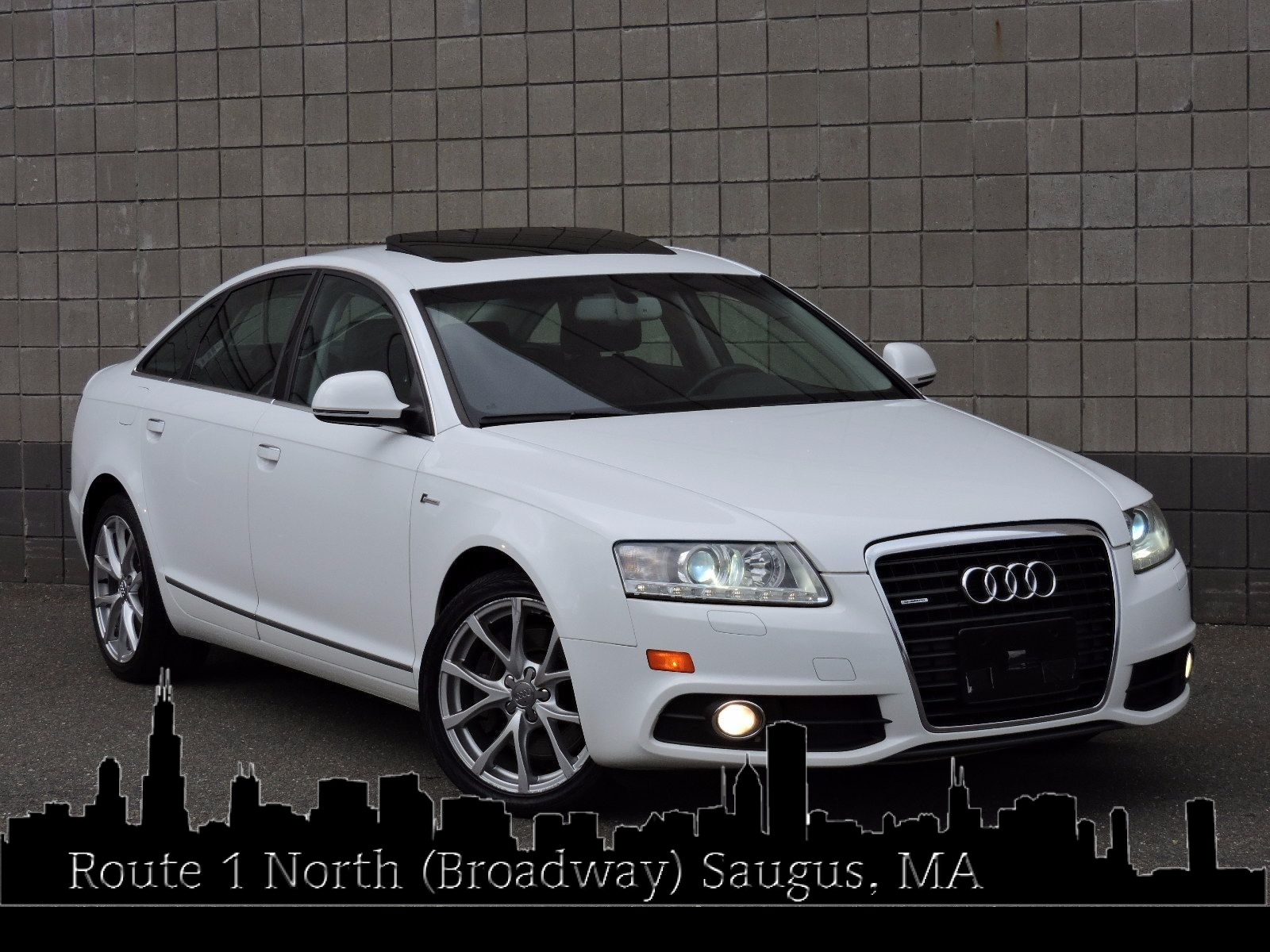 used 2011 audi a6 3 0t premium plus at saugus auto mall. Black Bedroom Furniture Sets. Home Design Ideas