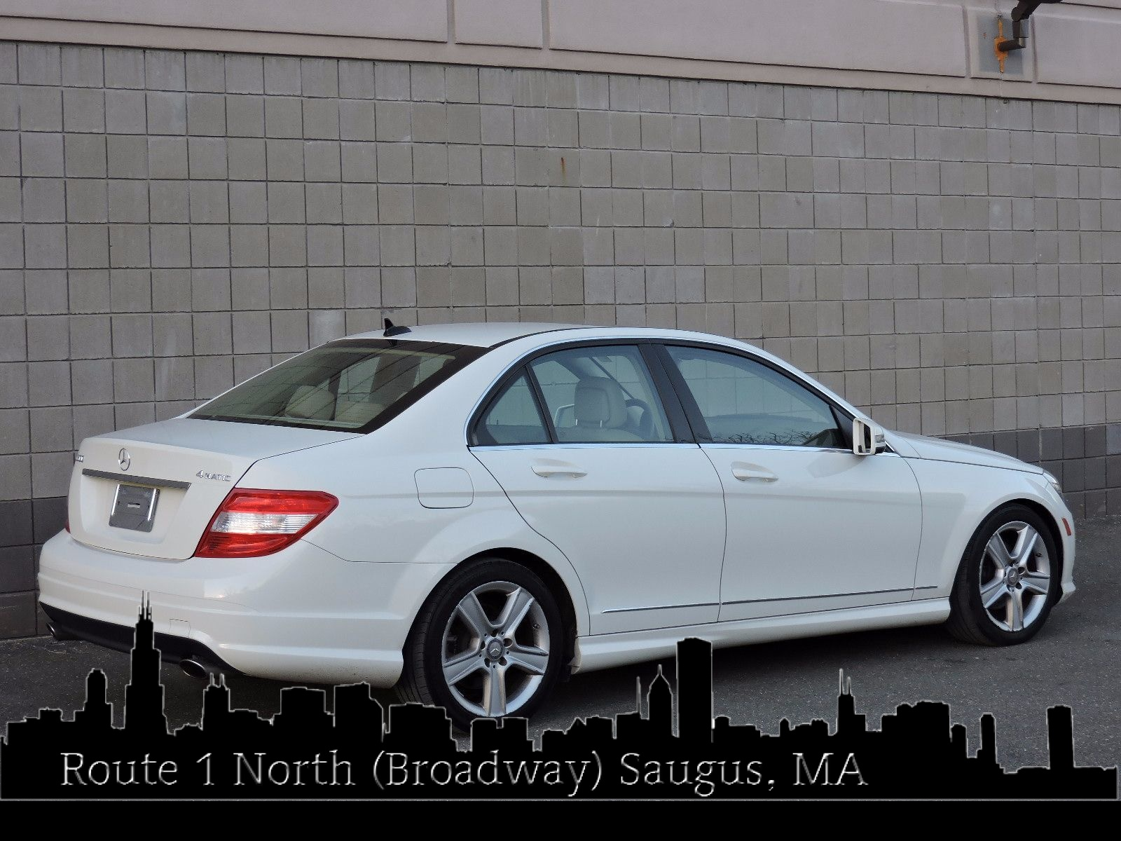 Used 2011 mercedes benz c300 c300 sport at saugus auto mall for Average insurance cost for mercedes benz c300