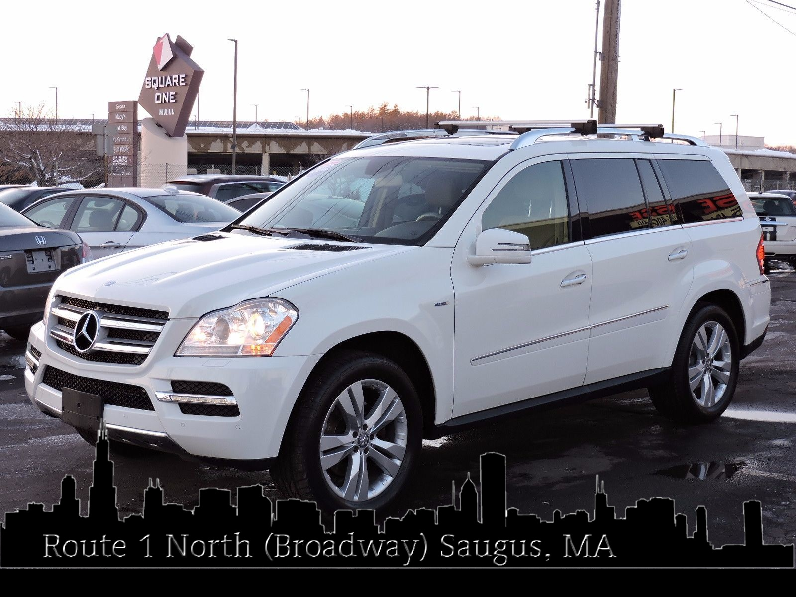 used 2012 mercedes benz gl 350 gl350 bluetec at saugus auto mall. Black Bedroom Furniture Sets. Home Design Ideas