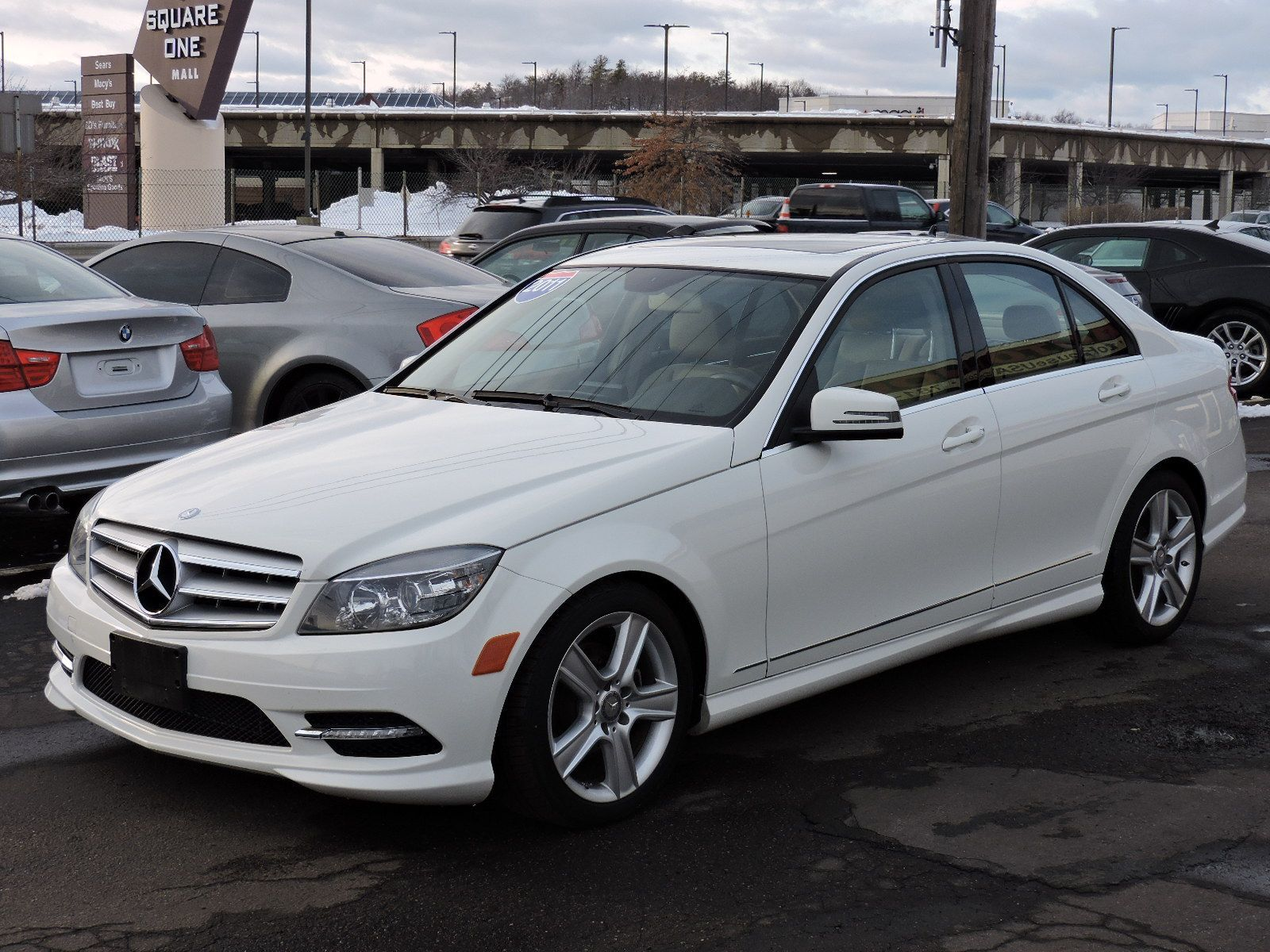 Used 2011 mercedes benz c300 c300 sport at saugus auto mall for Mercedes benz 2011 c300