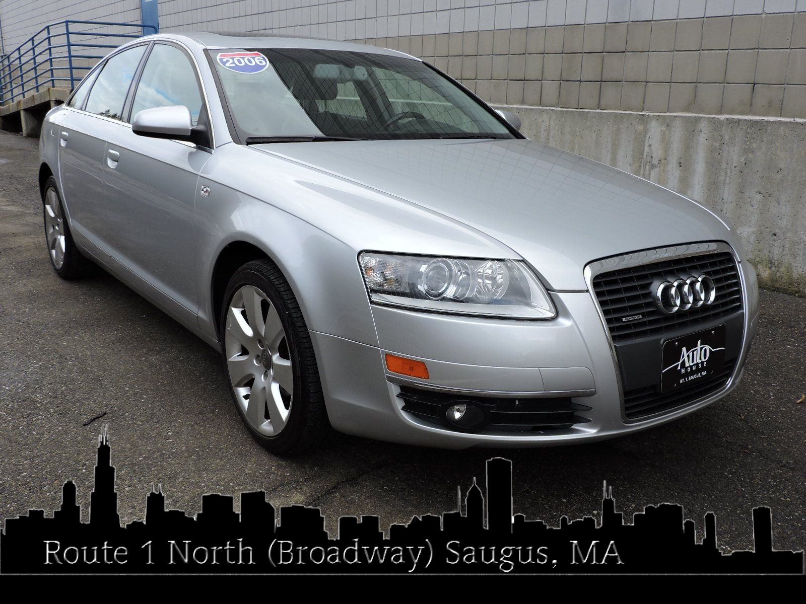 used 2006 audi a6 3.2l at saugus auto mall