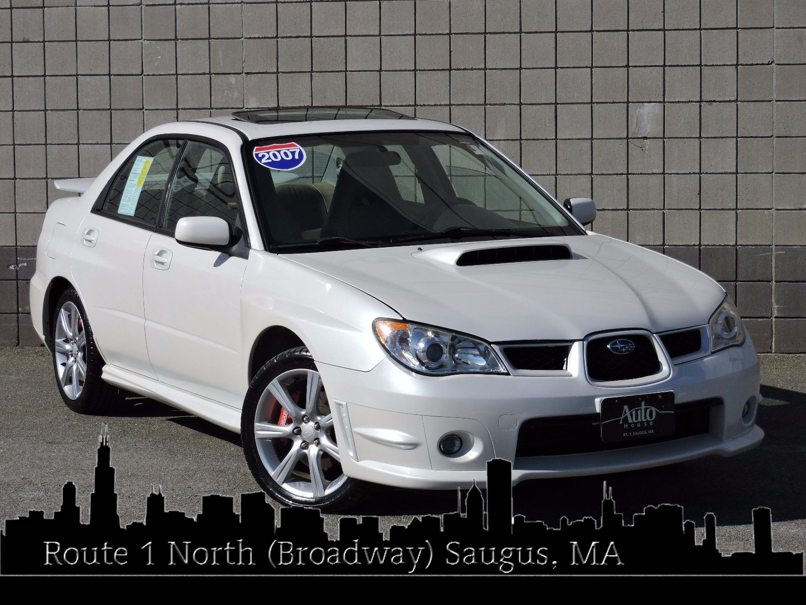 2007 subaru impreza sedan all wheel drive limited edition 5 speed manual
