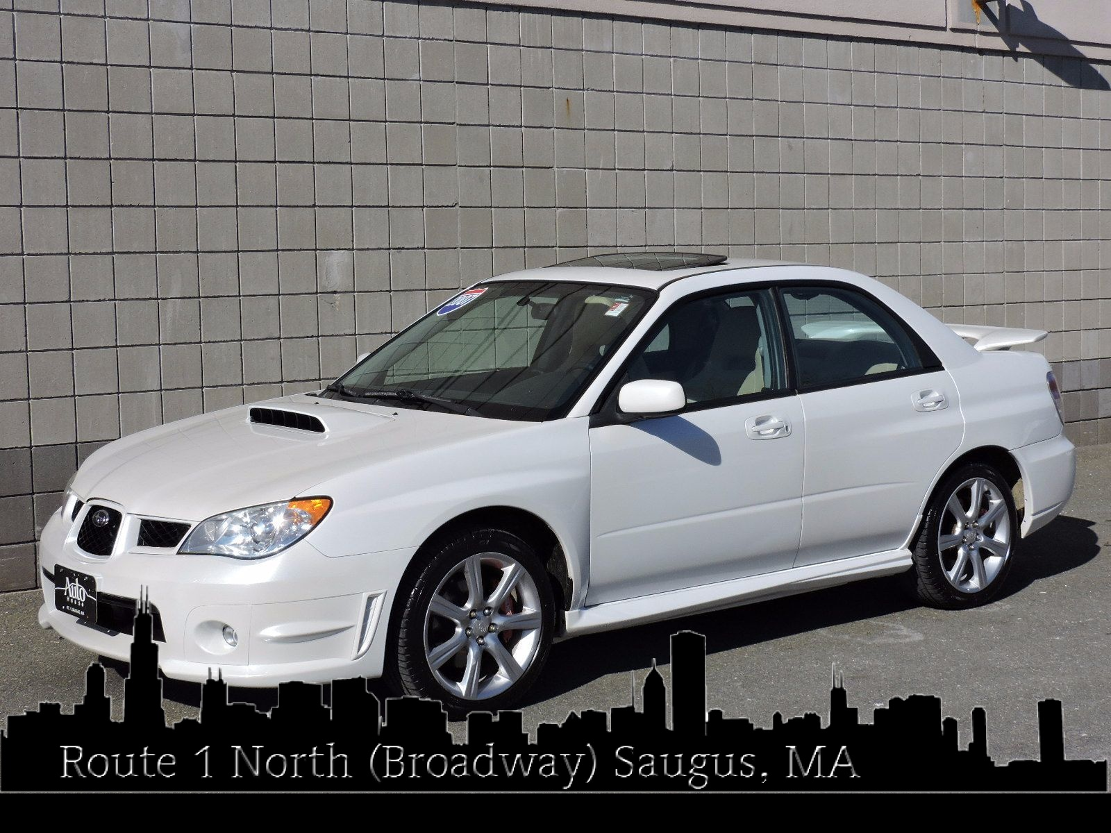 used 2007 subaru impreza sedan wrx ltd at saugus auto mall. Black Bedroom Furniture Sets. Home Design Ideas