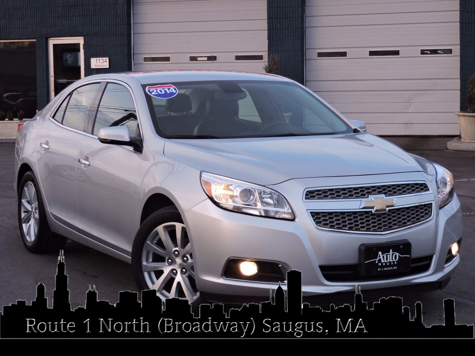 used 2013 chevrolet malibu ltz at saugus auto mall. Black Bedroom Furniture Sets. Home Design Ideas