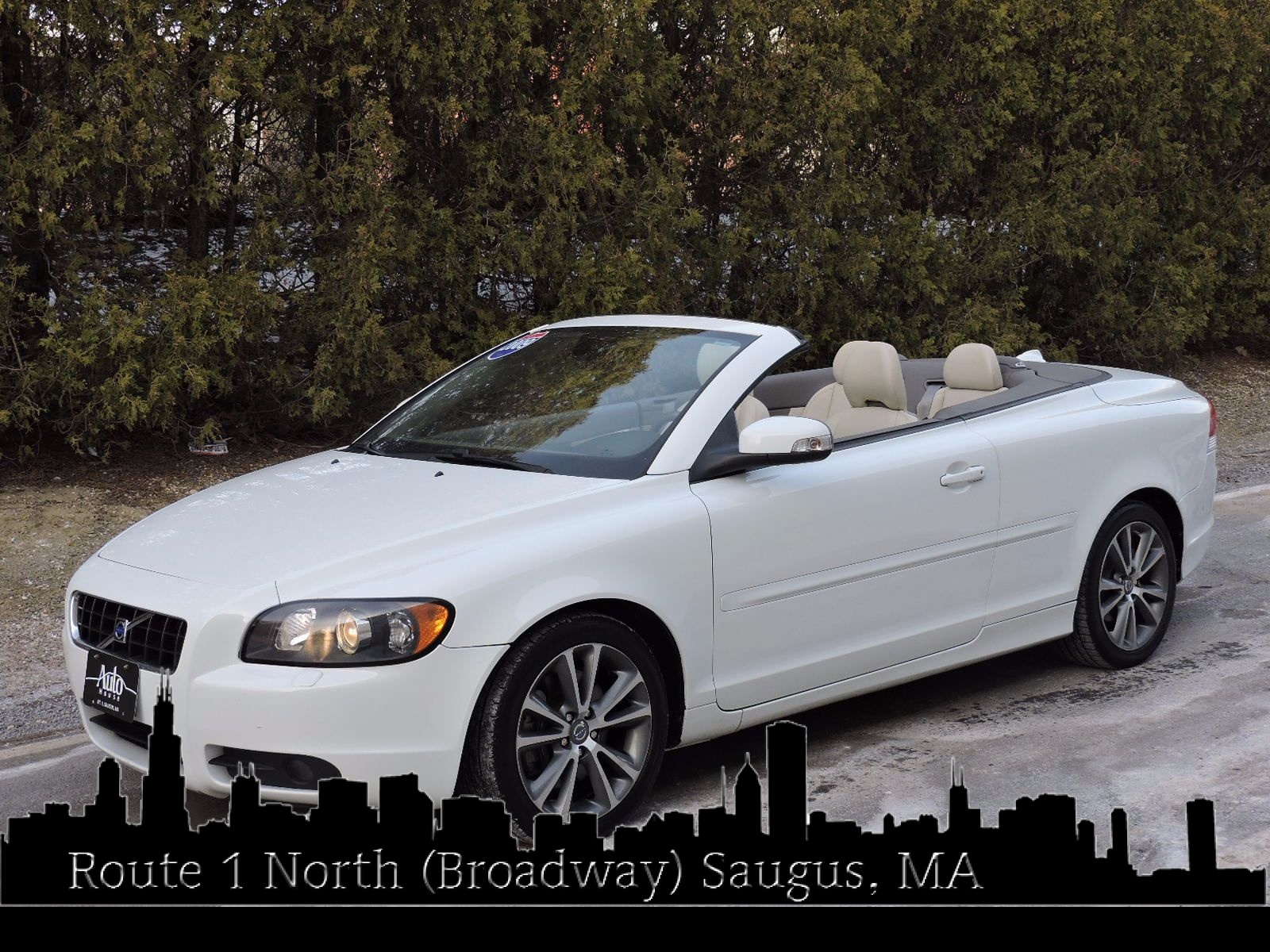 used rouge for silver la convertibles metallic volvo convertible baton sale