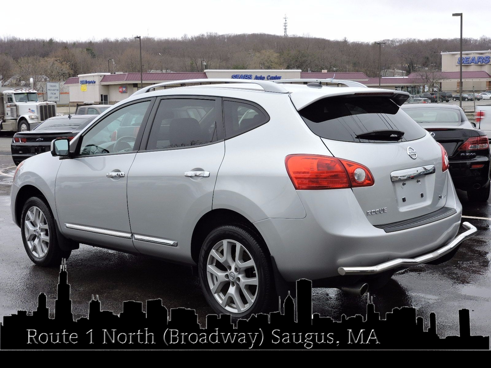 used 2013 nissan rogue sl at saugus auto mall. Black Bedroom Furniture Sets. Home Design Ideas
