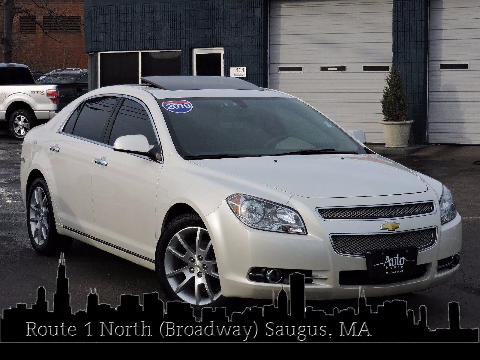 used 2010 chevrolet malibu ltz at saugus auto mall. Black Bedroom Furniture Sets. Home Design Ideas