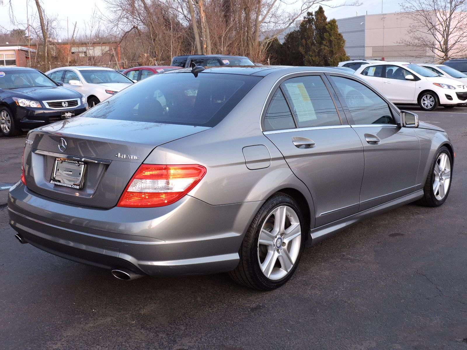 Used 2010 mercedes benz c class c300 sport at saugus auto mall for 2010 mercedes benz c300 price