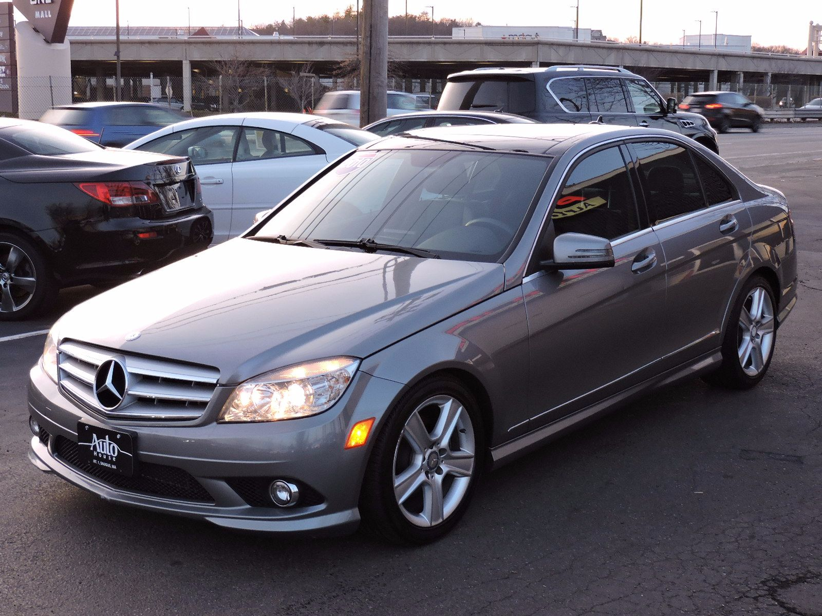 2010 mercedes benz c class sport all wheel drive navigation