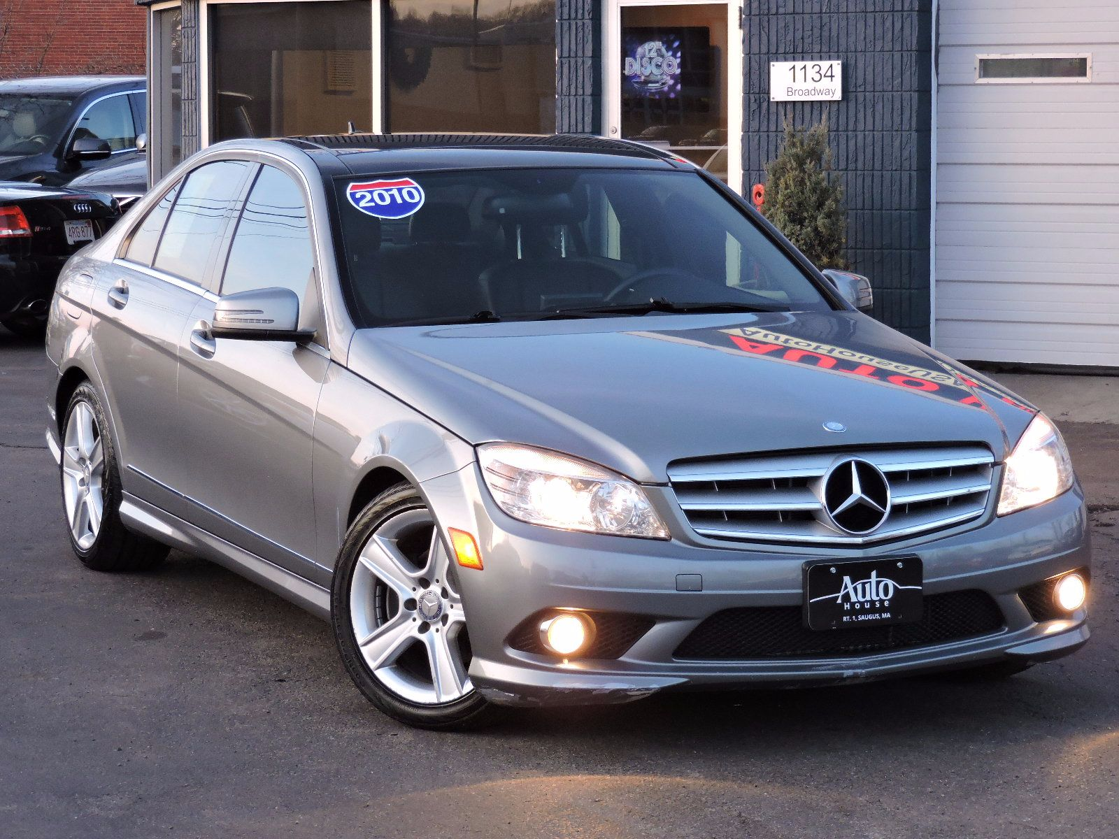 used 2010 mercedes benz c class c300 sport at saugus auto mall. Black Bedroom Furniture Sets. Home Design Ideas