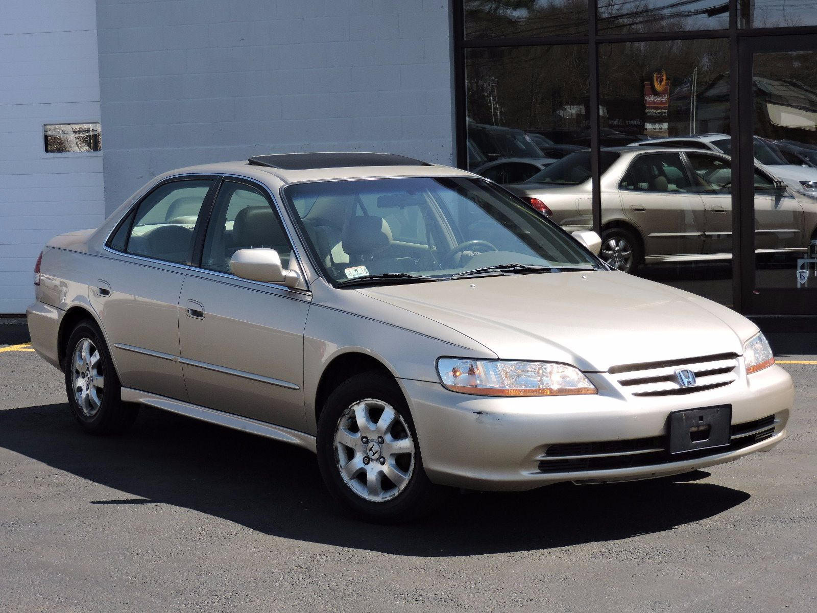 Used 2001 Honda Accord Sdn Ex Wleather At Saugus Auto Mall