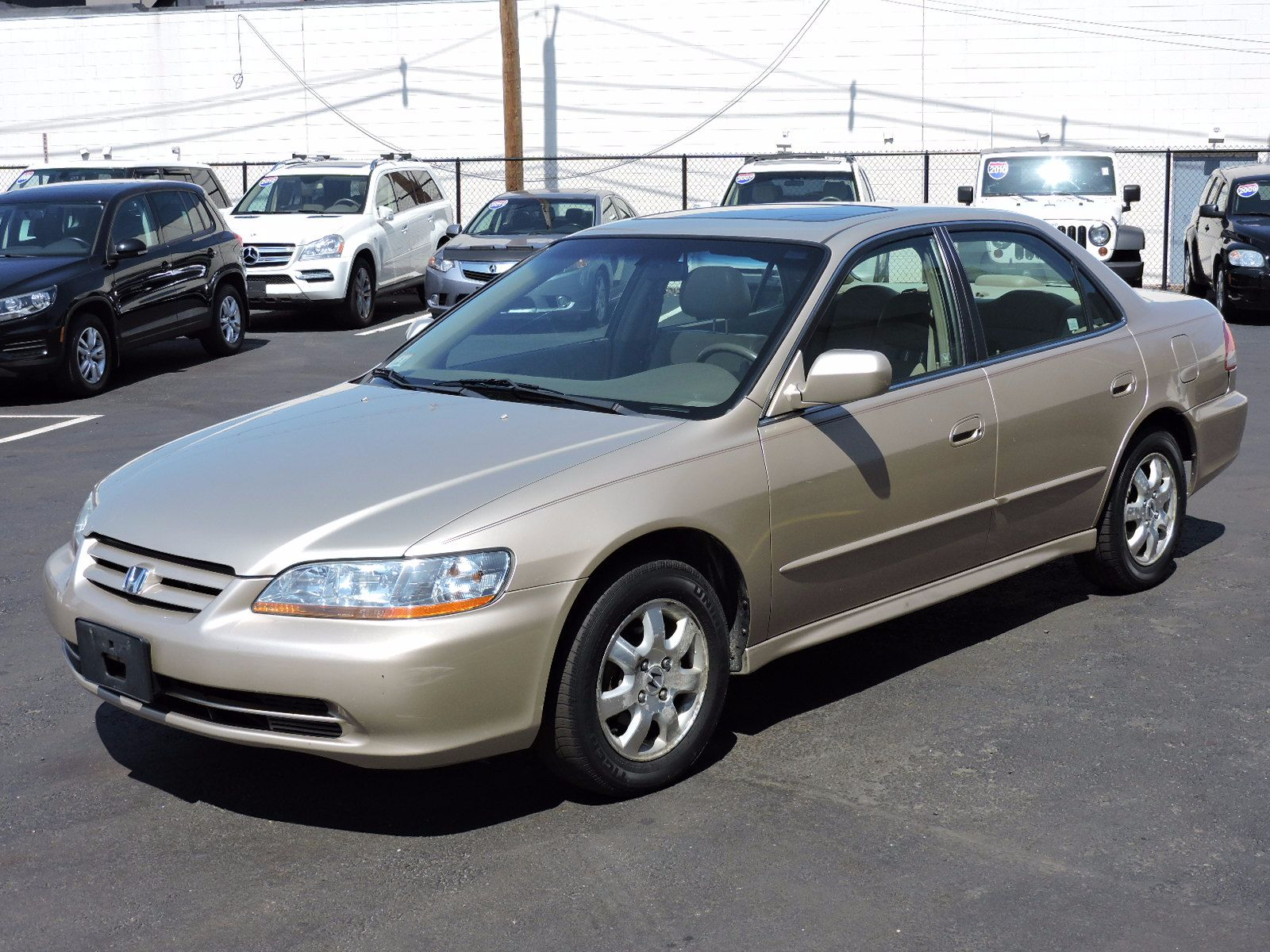 used 2001 honda accord sdn ex wleather at saugus auto mall. Black Bedroom Furniture Sets. Home Design Ideas