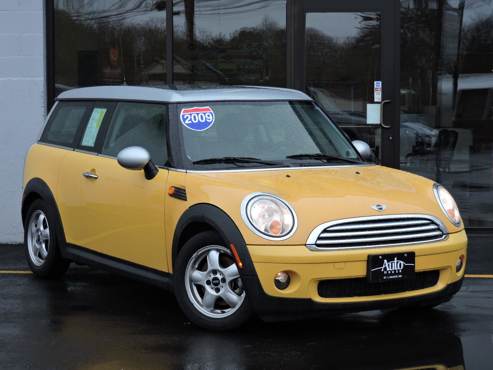 used 2009 mini cooper clubman premium plus at saugus auto mall. Black Bedroom Furniture Sets. Home Design Ideas