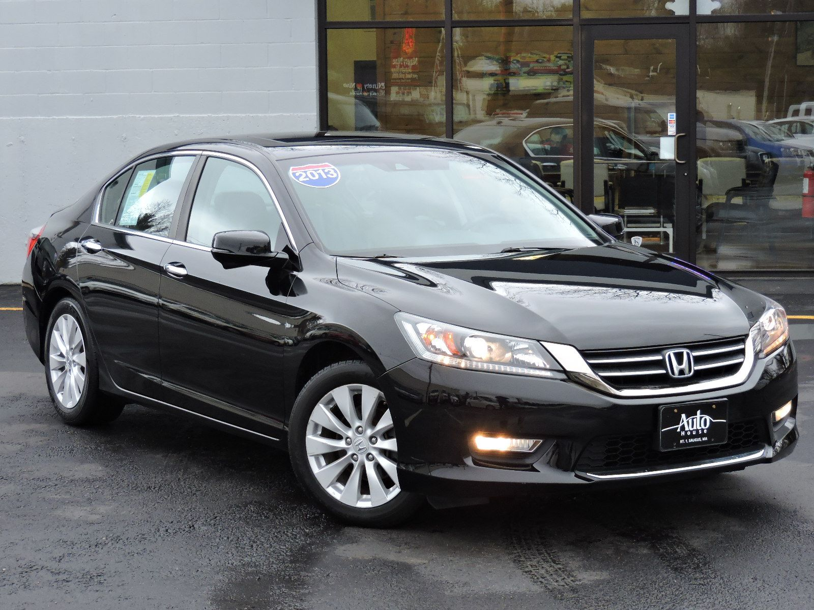 Used 2013 honda accord sdn ex l at saugus auto mall for Honda accord exl 2013