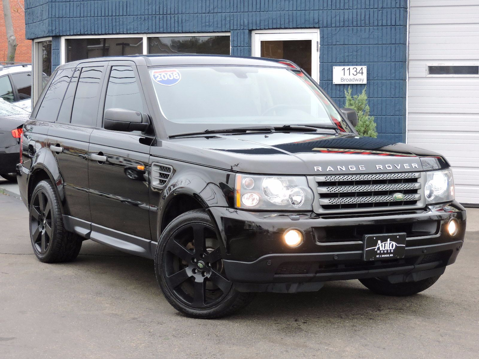 Used 2008 Land Rover Range Rover Sport Hse At Saugus Auto Mall