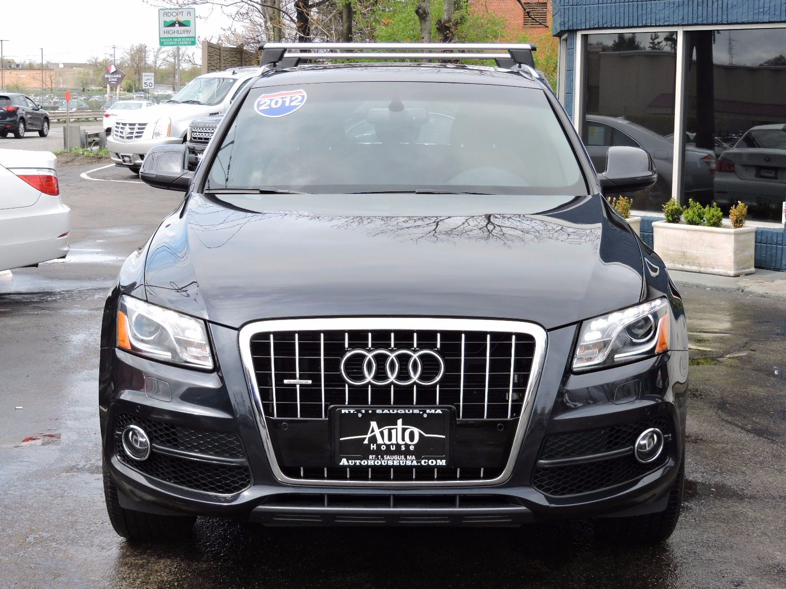 used 2012 audi q5 3 2l premium plus at saugus auto mall. Black Bedroom Furniture Sets. Home Design Ideas