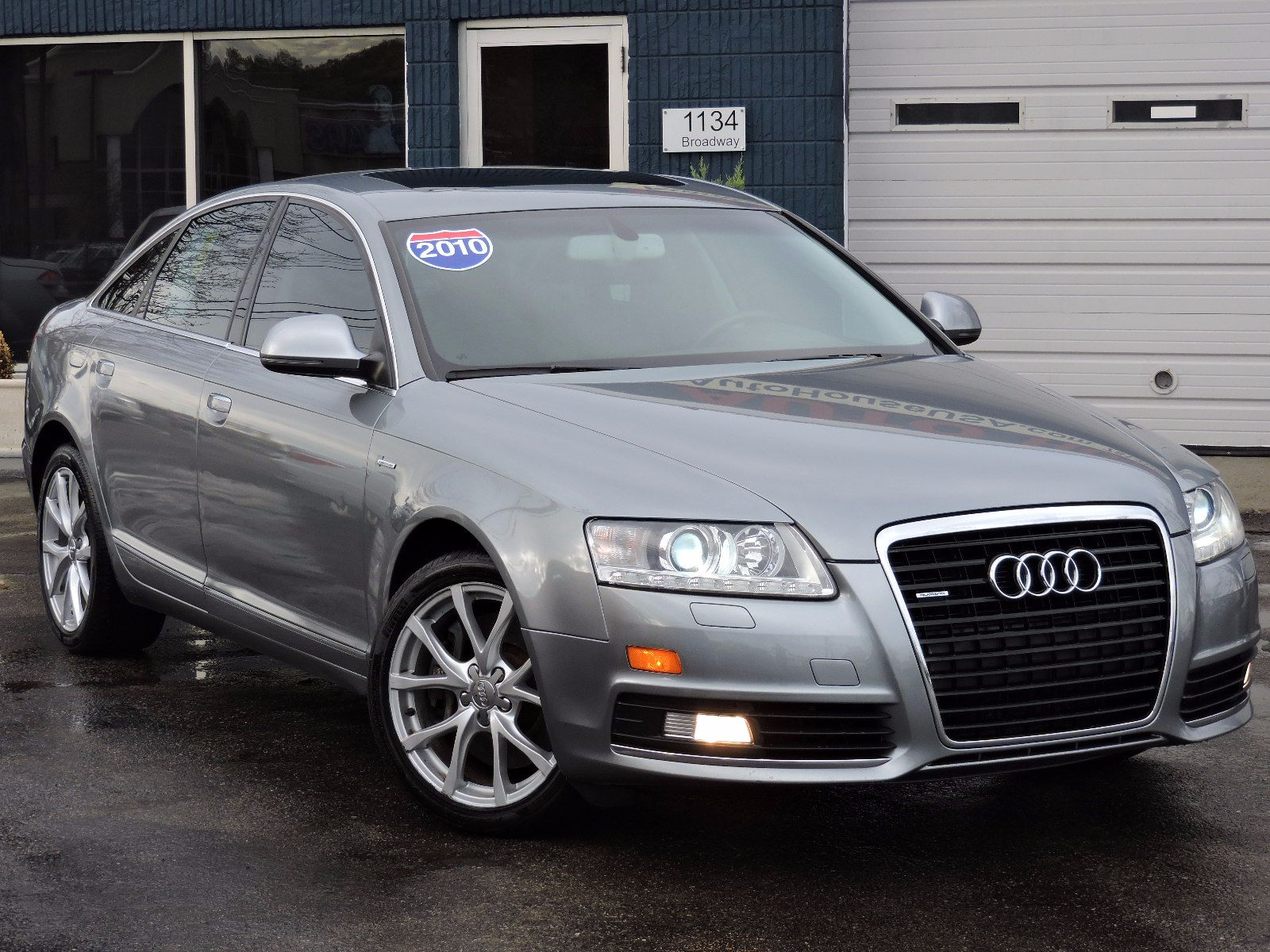 used 2010 audi a6 3 0t premium plus at saugus auto mall. Black Bedroom Furniture Sets. Home Design Ideas