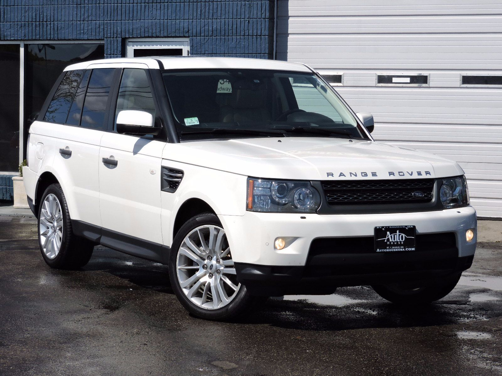 used 2010 land rover range rover sport hse lux at saugus. Black Bedroom Furniture Sets. Home Design Ideas