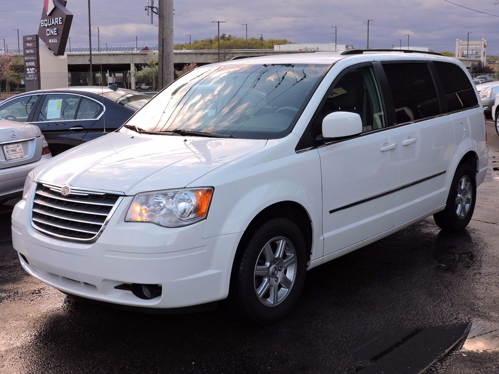 used 2010 chrysler town country touring at saugus auto mall. Black Bedroom Furniture Sets. Home Design Ideas