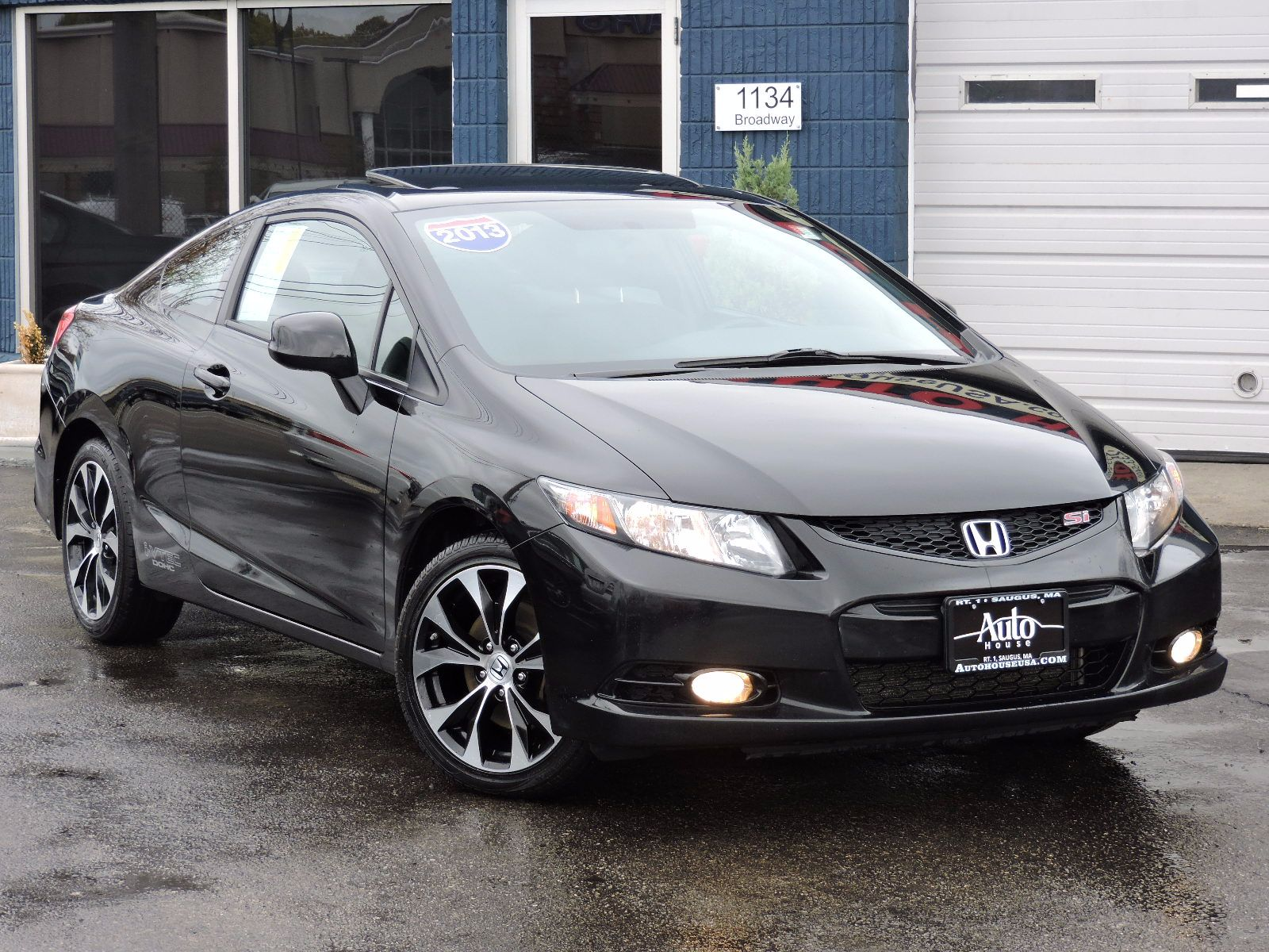 used 2013 honda civic cpe si at saugus auto mall. Black Bedroom Furniture Sets. Home Design Ideas