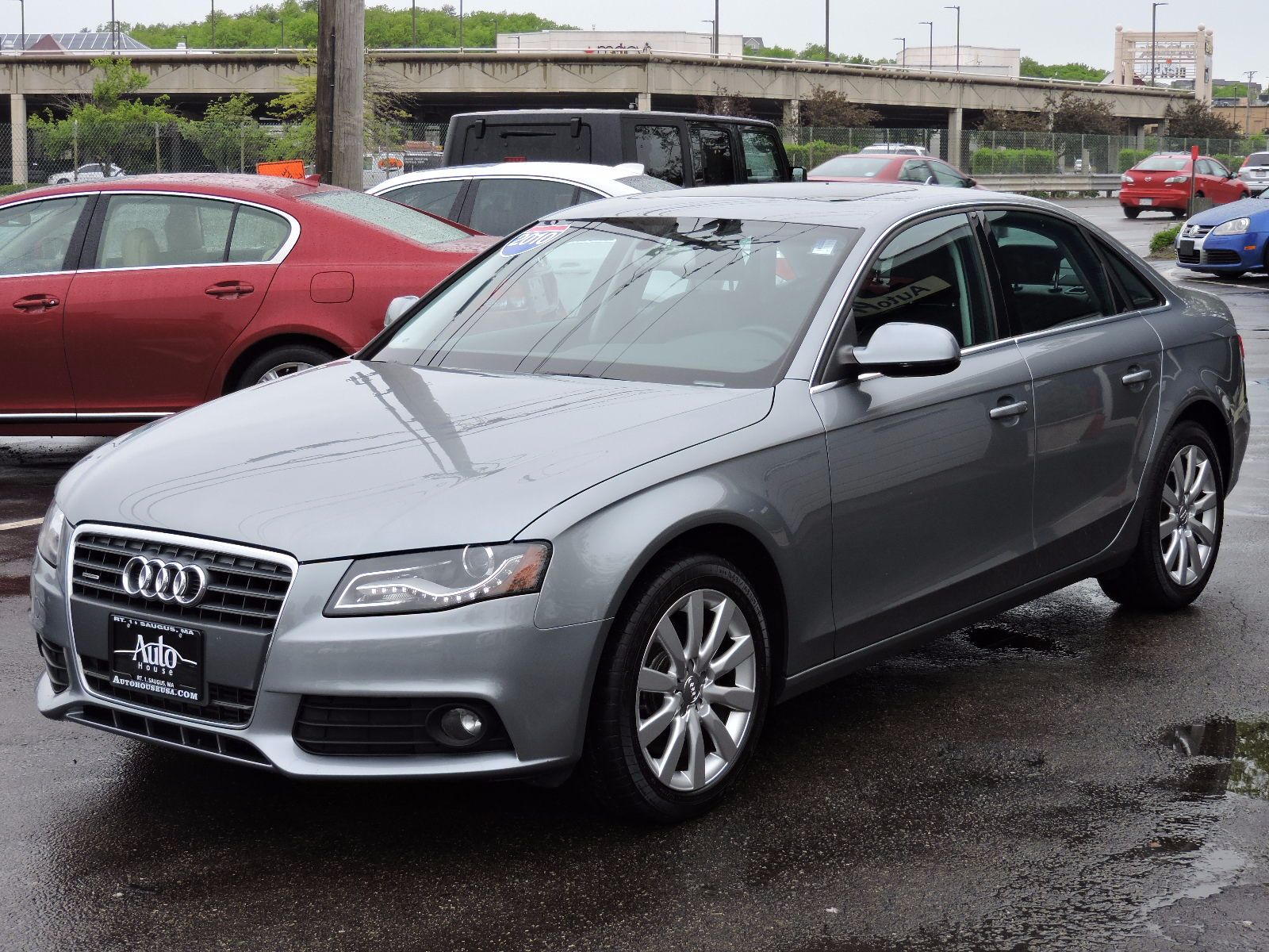 used 2010 audi a4 2 0t premium plus at saugus auto mall. Black Bedroom Furniture Sets. Home Design Ideas