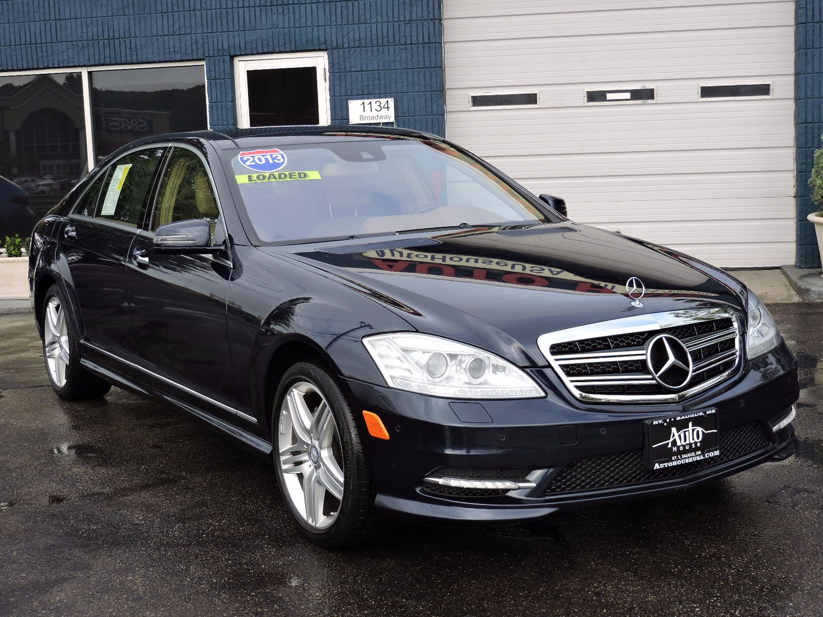 2013 Mercedes-Benz S-Class - 4Matic - All Wheel Drive - Navigation
