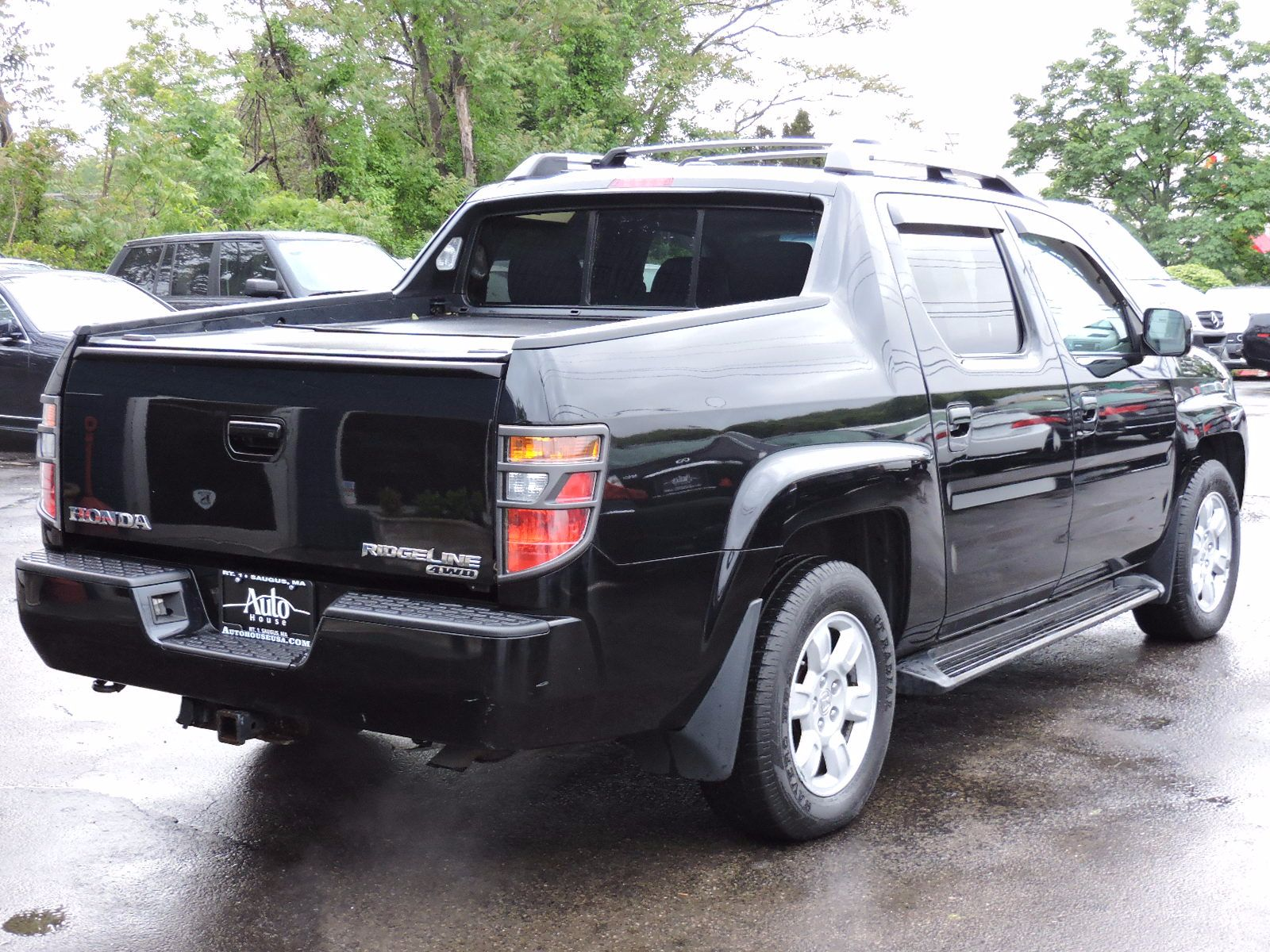 used 2006 honda ridgeline rtl awd moonroof at saugus auto mall. Black Bedroom Furniture Sets. Home Design Ideas