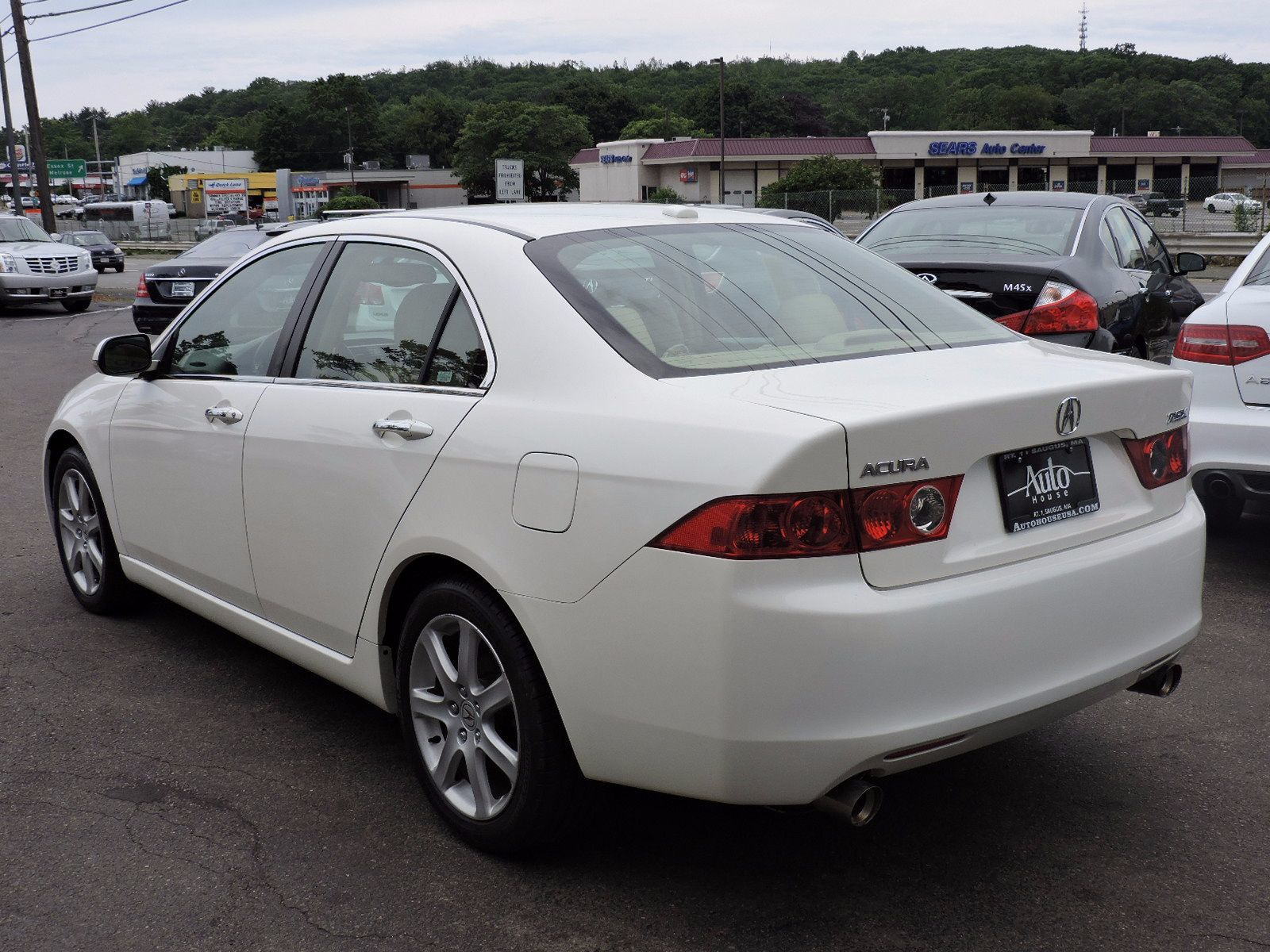 used 2005 acura tsx 2 0t premium at saugus auto mall. Black Bedroom Furniture Sets. Home Design Ideas