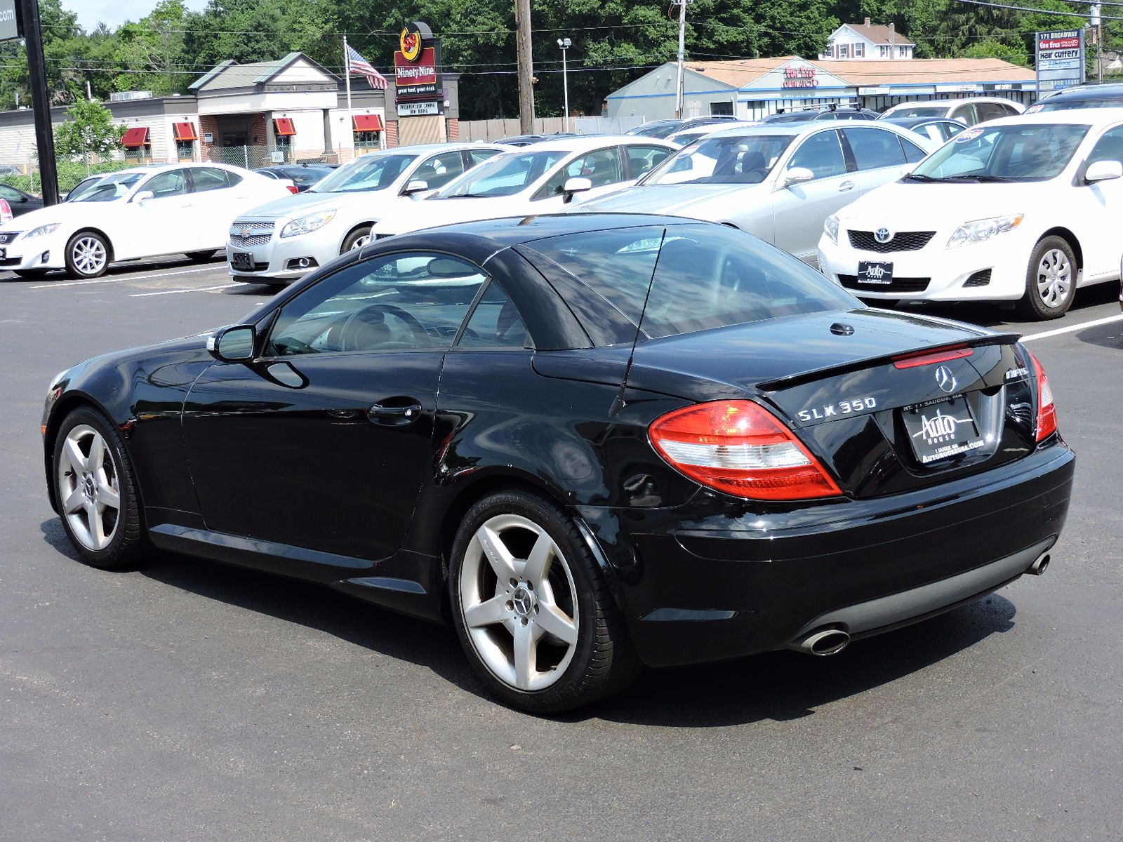 Used 2007 mercedes benz slk350 3 5l at saugus auto mall for 2007 mercedes benz slk