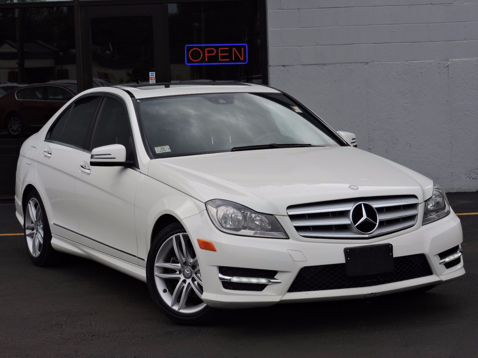 used 2012 mercedes benz c class c 300 sport at saugus auto mall. Black Bedroom Furniture Sets. Home Design Ideas