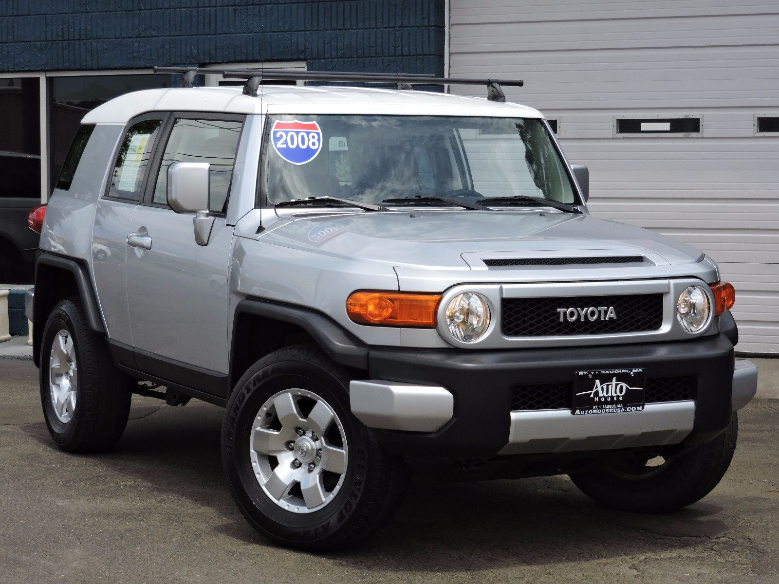 used 2008 toyota fj cruiser sv at saugus auto mall. Black Bedroom Furniture Sets. Home Design Ideas