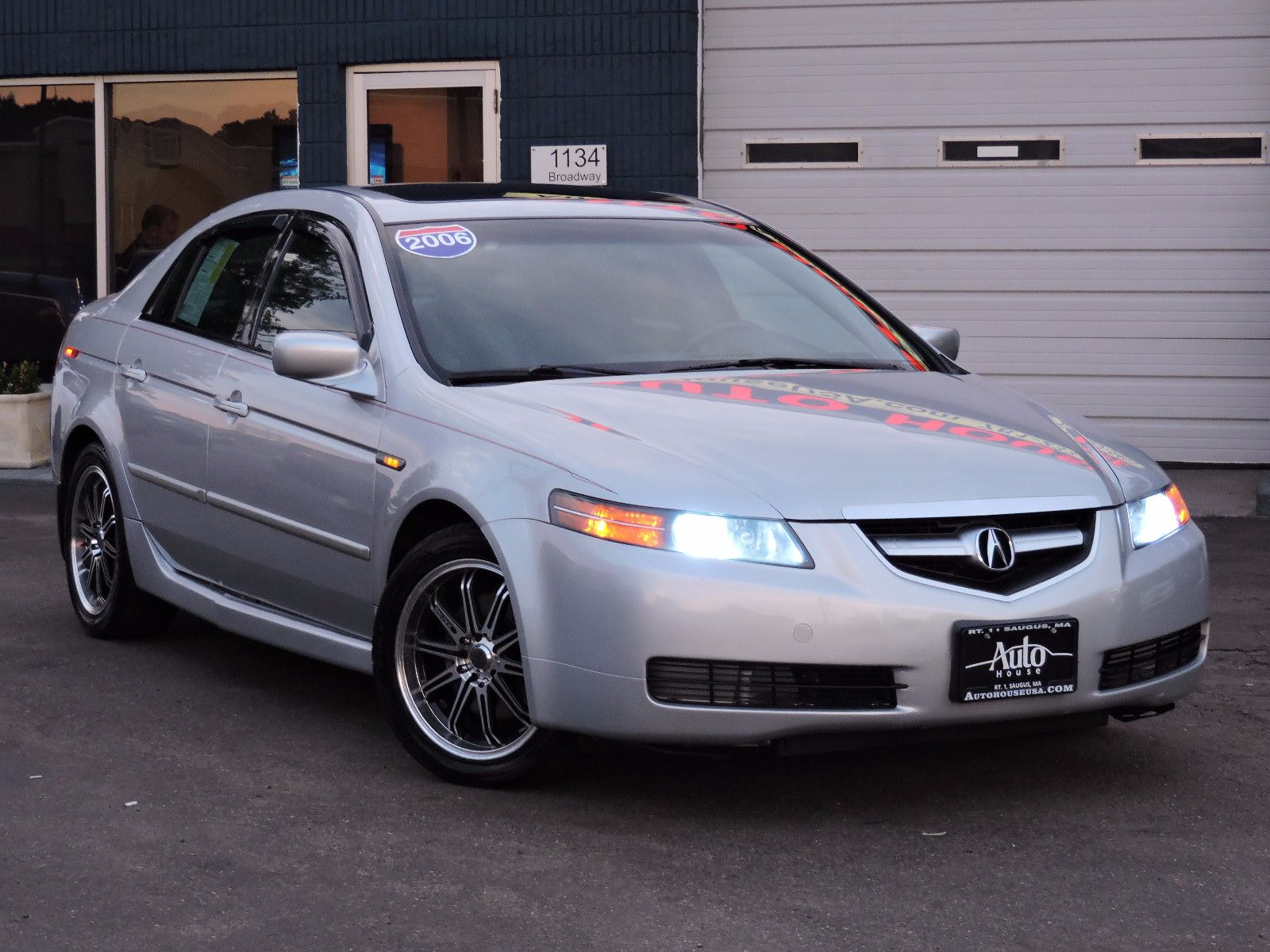 used 2006 acura tl 2 0t premium at saugus auto mall. Black Bedroom Furniture Sets. Home Design Ideas