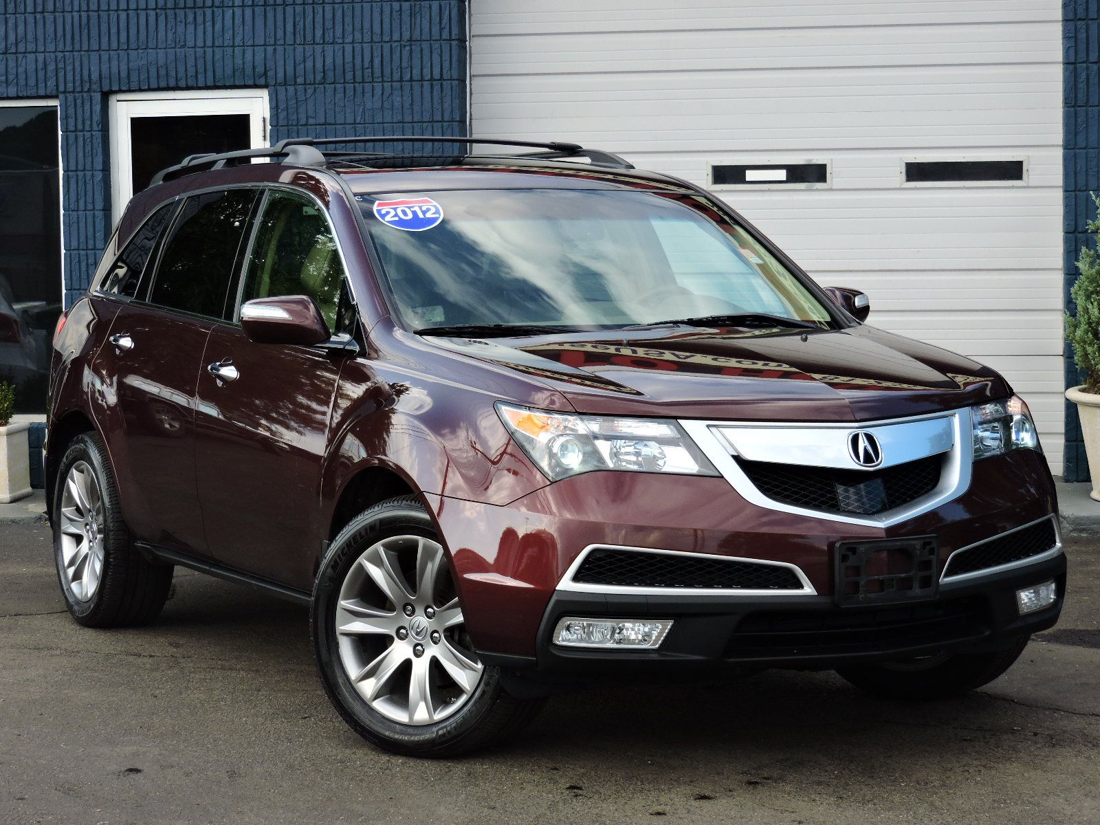 Used 2012 Acura MDX AdvanceEntertainment Pkg at Saugus Auto Mall Acura M D X on