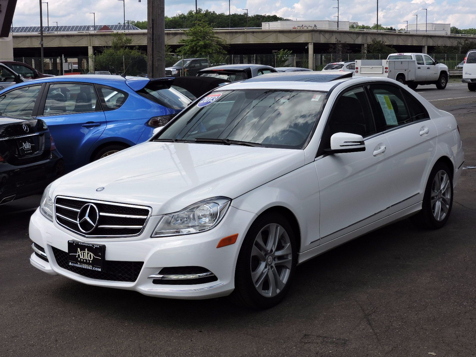 Used 2013 mercedes benz c300 c 300 luxury at saugus auto mall for Mercedes benz loan rates