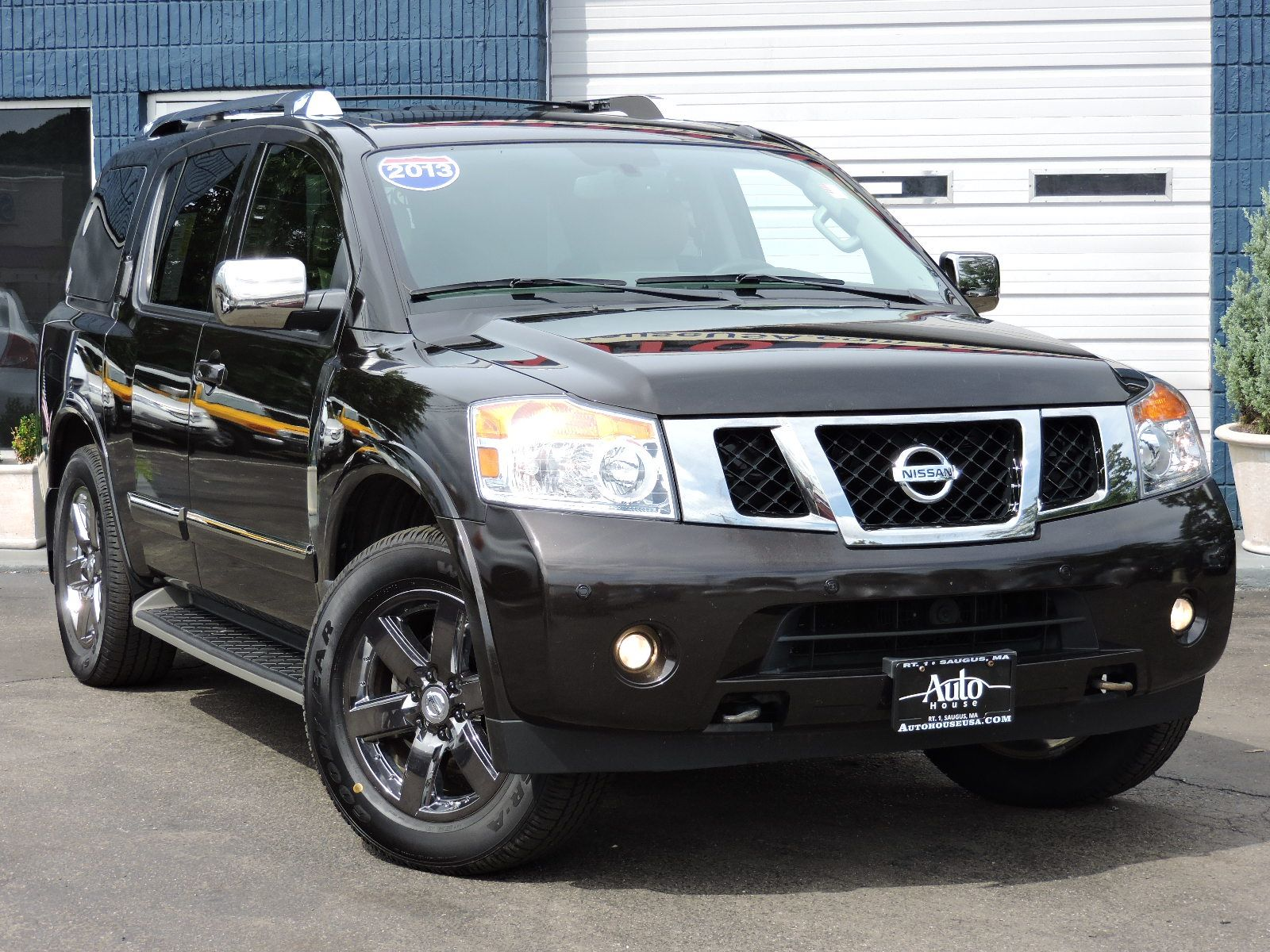 2013 Nissan Armada - Platinum Reserve Edition - All Wheel Drive - Navigation