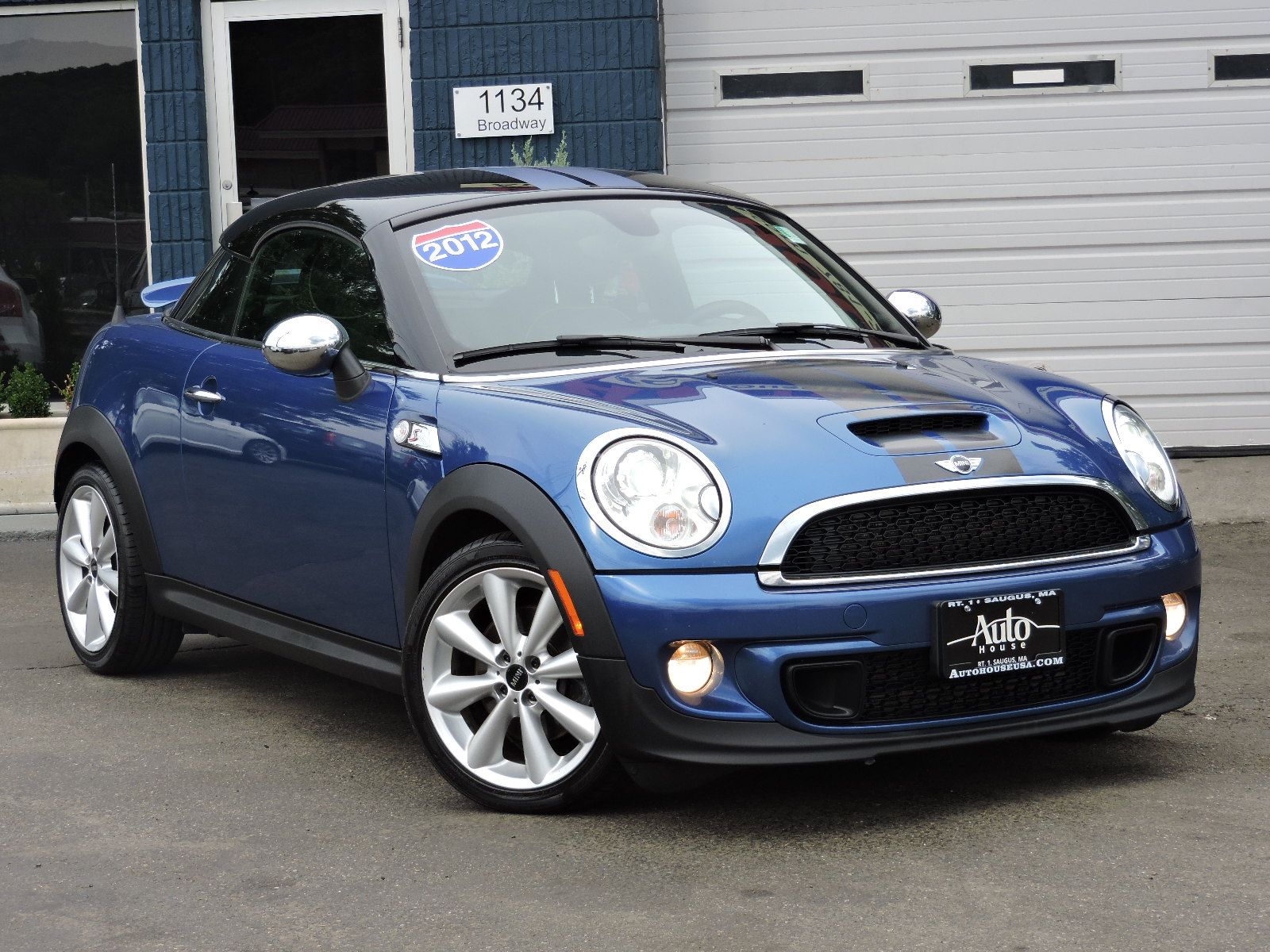 used 2012 mini cooper coupe s at saugus auto mall. Black Bedroom Furniture Sets. Home Design Ideas