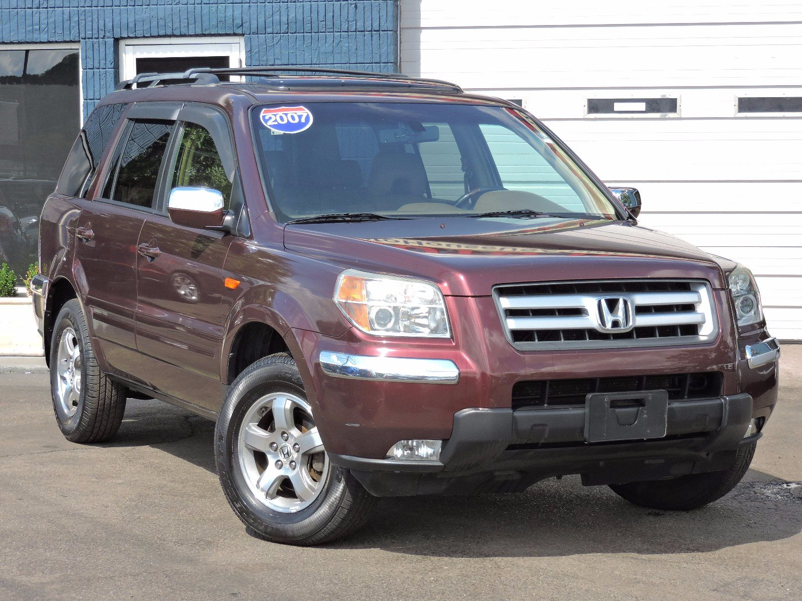 used 2007 honda pilot ex l at saugus auto mall. Black Bedroom Furniture Sets. Home Design Ideas