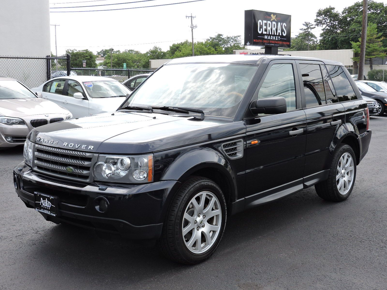 used 2008 land rover range rover sport hse at saugus auto mall. Black Bedroom Furniture Sets. Home Design Ideas