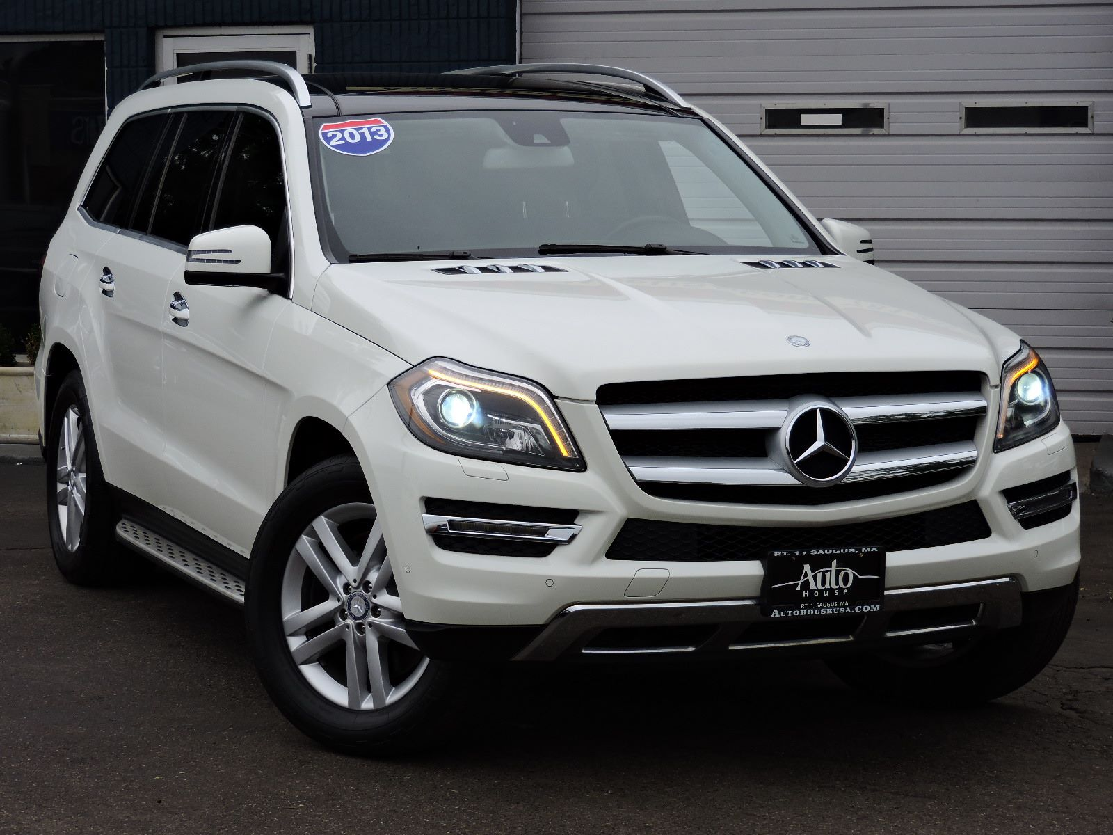 used 2013 mercedes benz gl 450 gl 450 at saugus auto mall. Black Bedroom Furniture Sets. Home Design Ideas