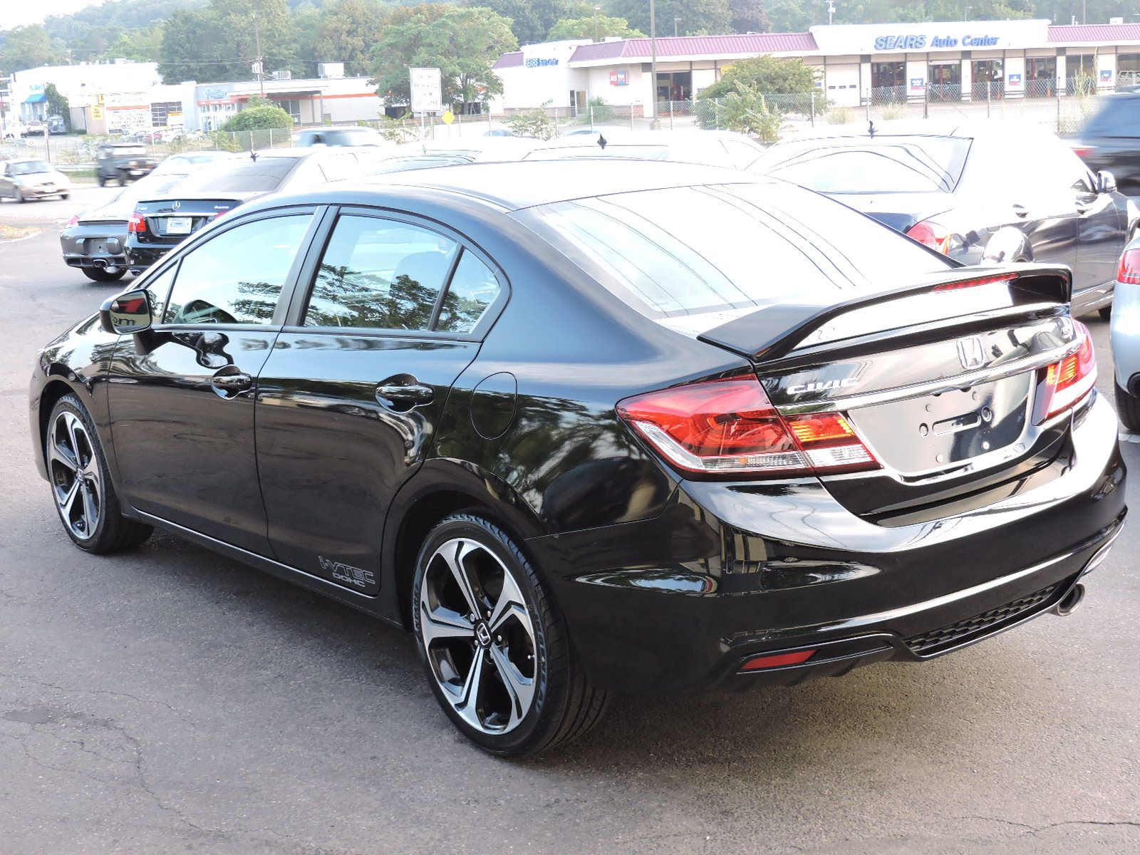 used 2014 honda civic sedan si at saugus auto mall. Black Bedroom Furniture Sets. Home Design Ideas