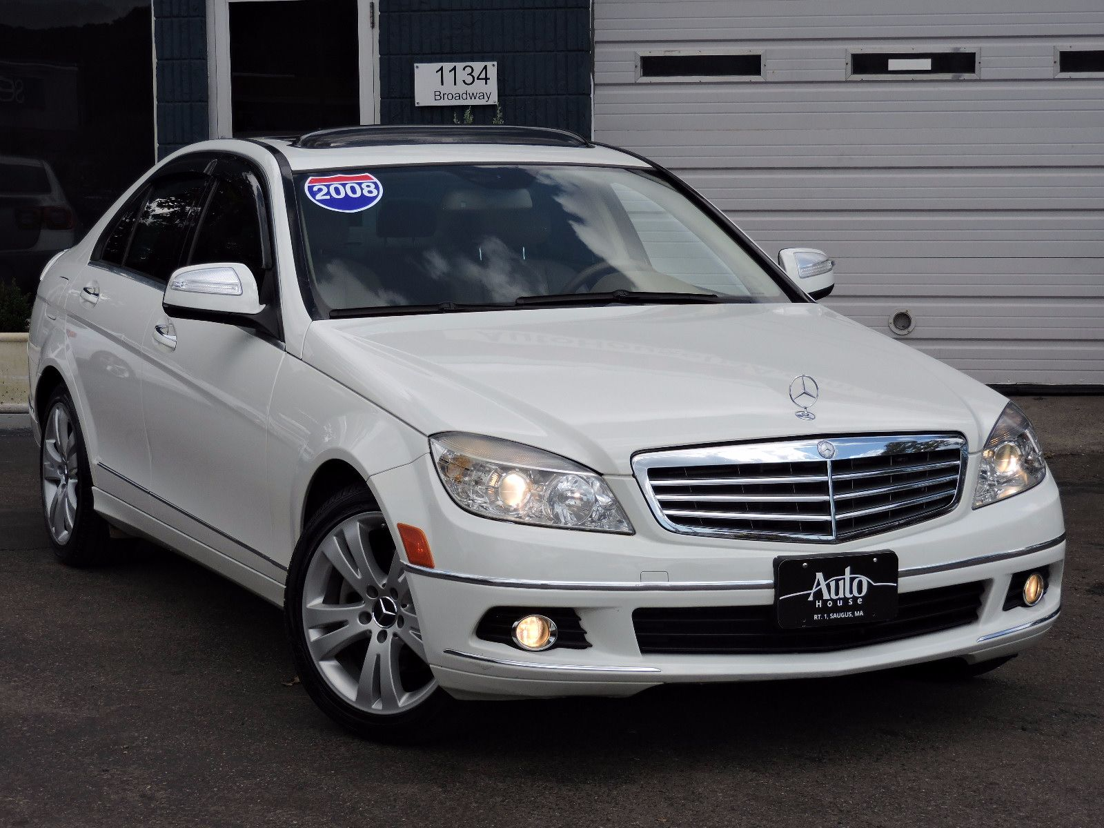 used 2008 mercedes benz c300 3 0l luxury at saugus auto mall. Black Bedroom Furniture Sets. Home Design Ideas