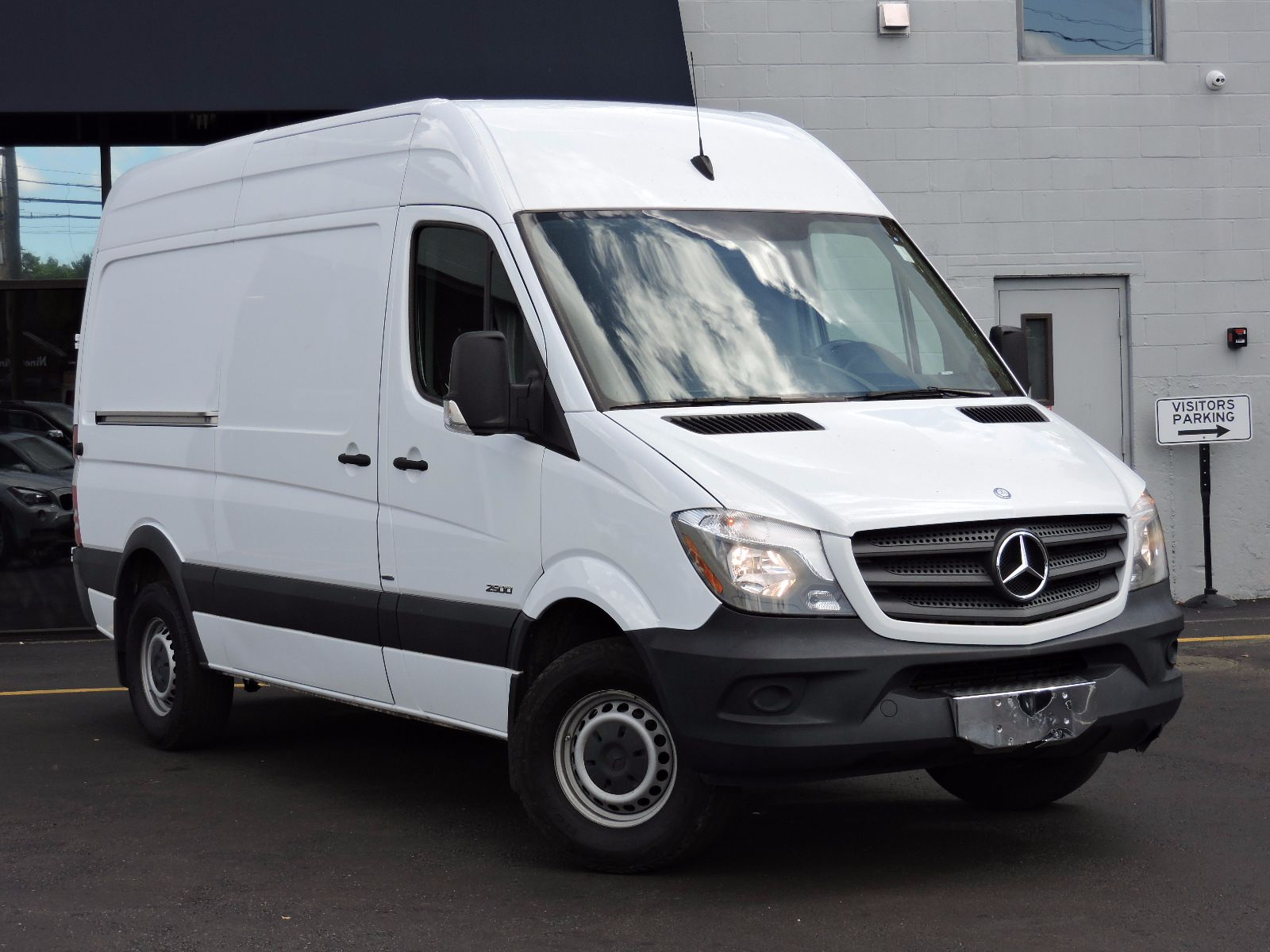 cargo rf ext arctic features van benz mb commercial sprinter work vans cargovan white mercedes