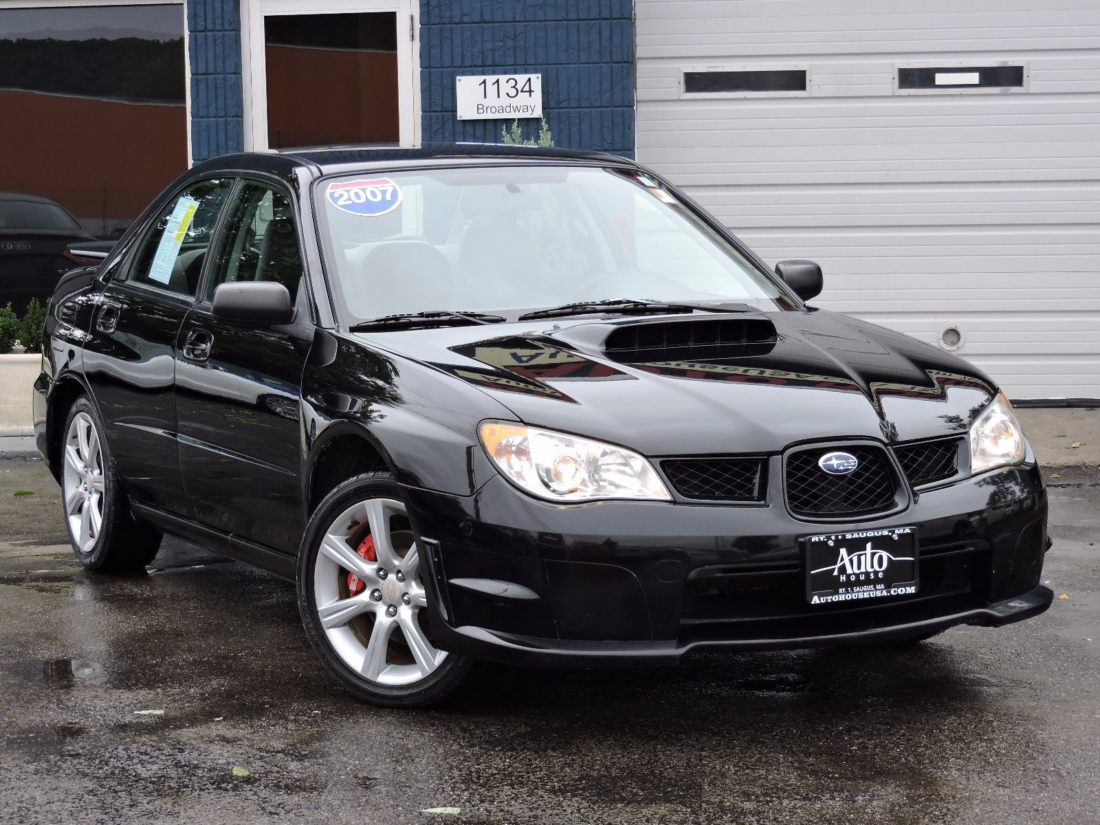 Used 2007 Subaru Impreza Sedan Wrx Tr At Saugus Auto Mall