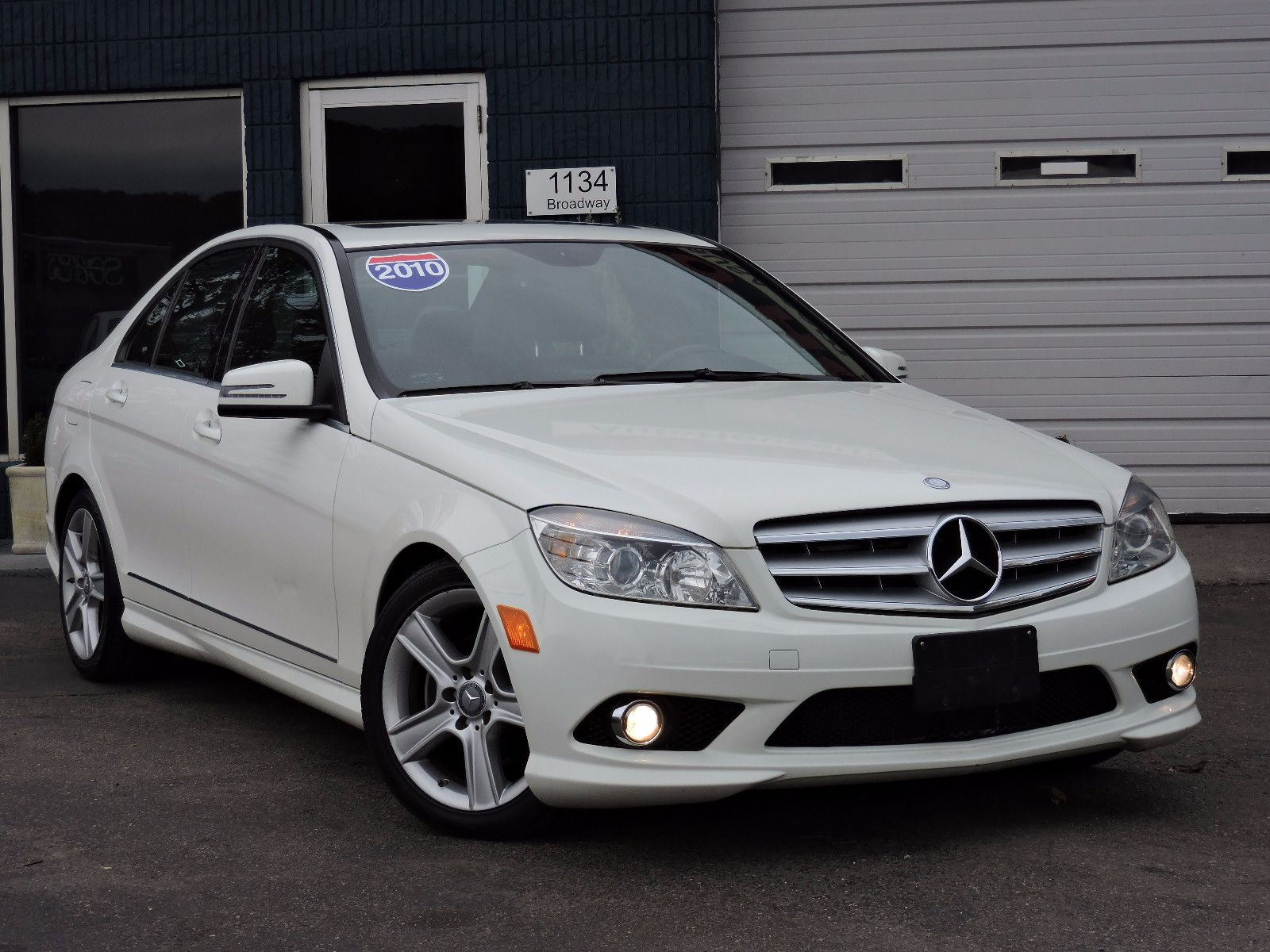 used 2010 mercedes benz c300 sport c 300 sport at saugus. Black Bedroom Furniture Sets. Home Design Ideas