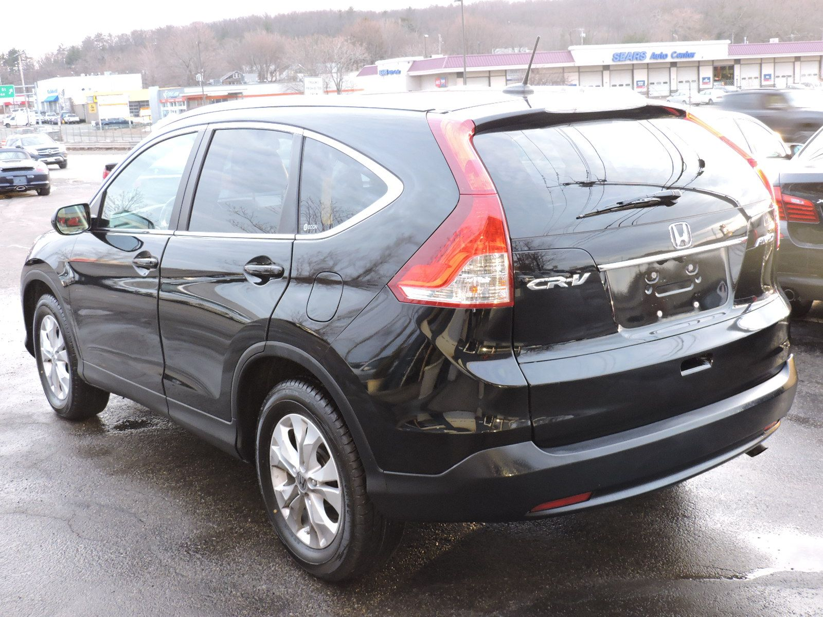 2012 Honda CR-V EXL - LEATHER - SUNROOF - BACK UP CAMERA