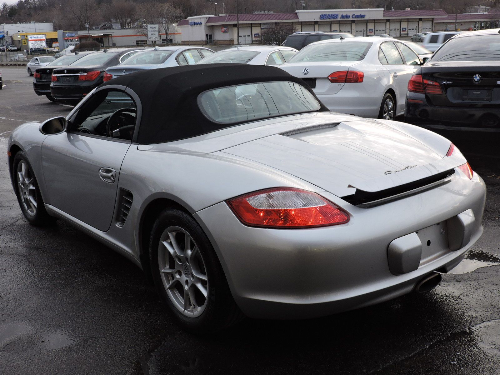 2007 Porsche Boxster 2 Door Convertible