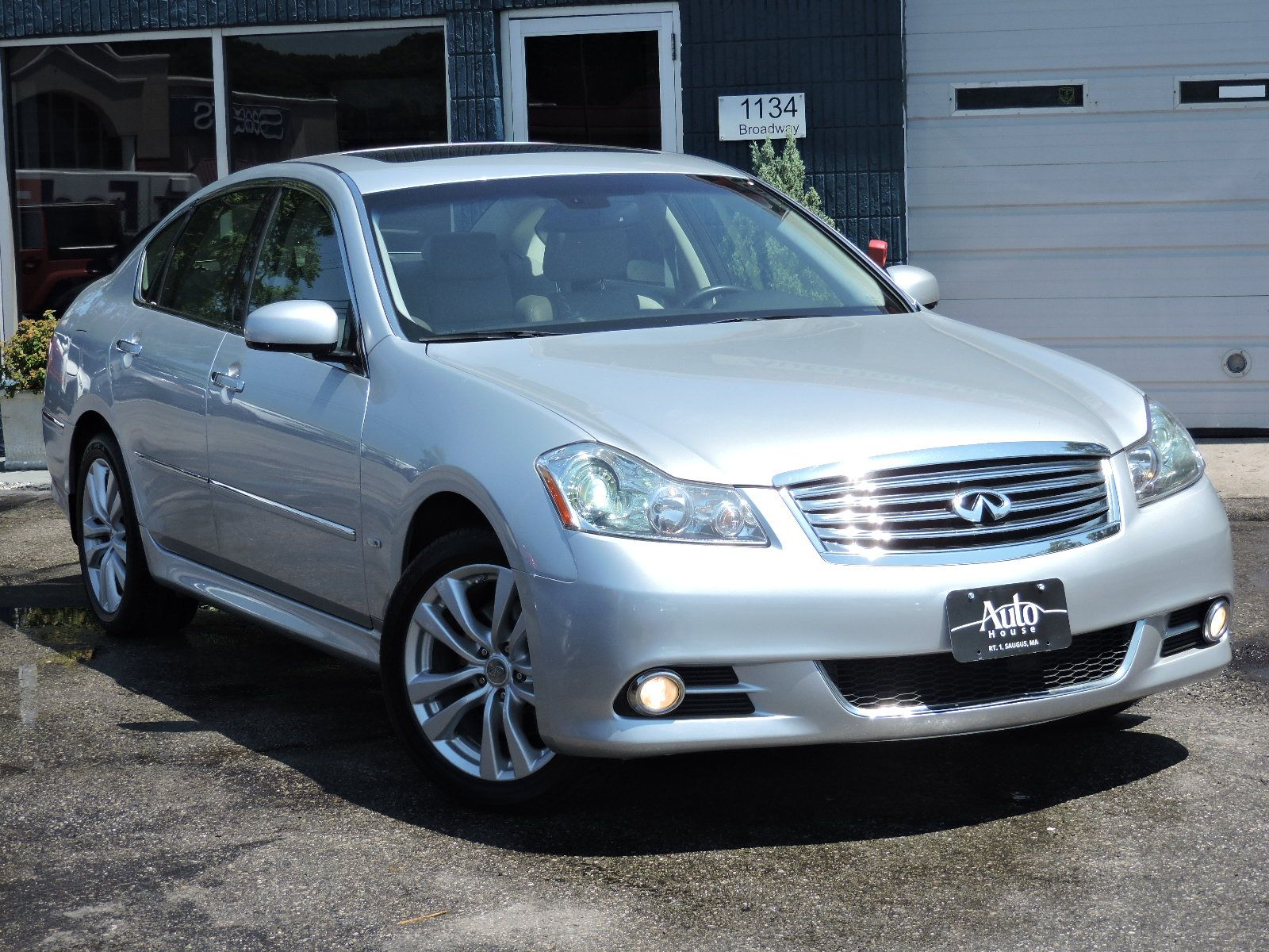 Used 2008 Infiniti M35 30 Prestige At Saugus Auto Mall Remote Starter For X Awd